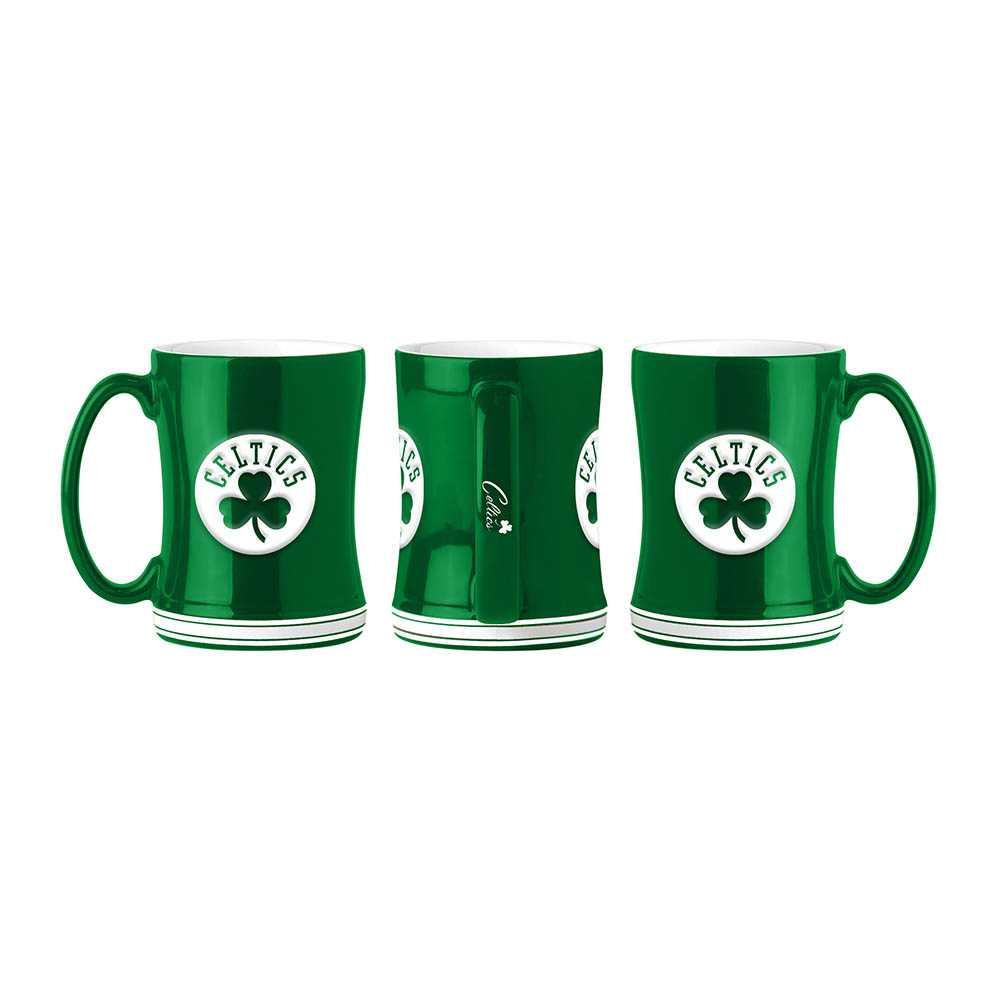 Boston Celtics Sculpted Relief Mug