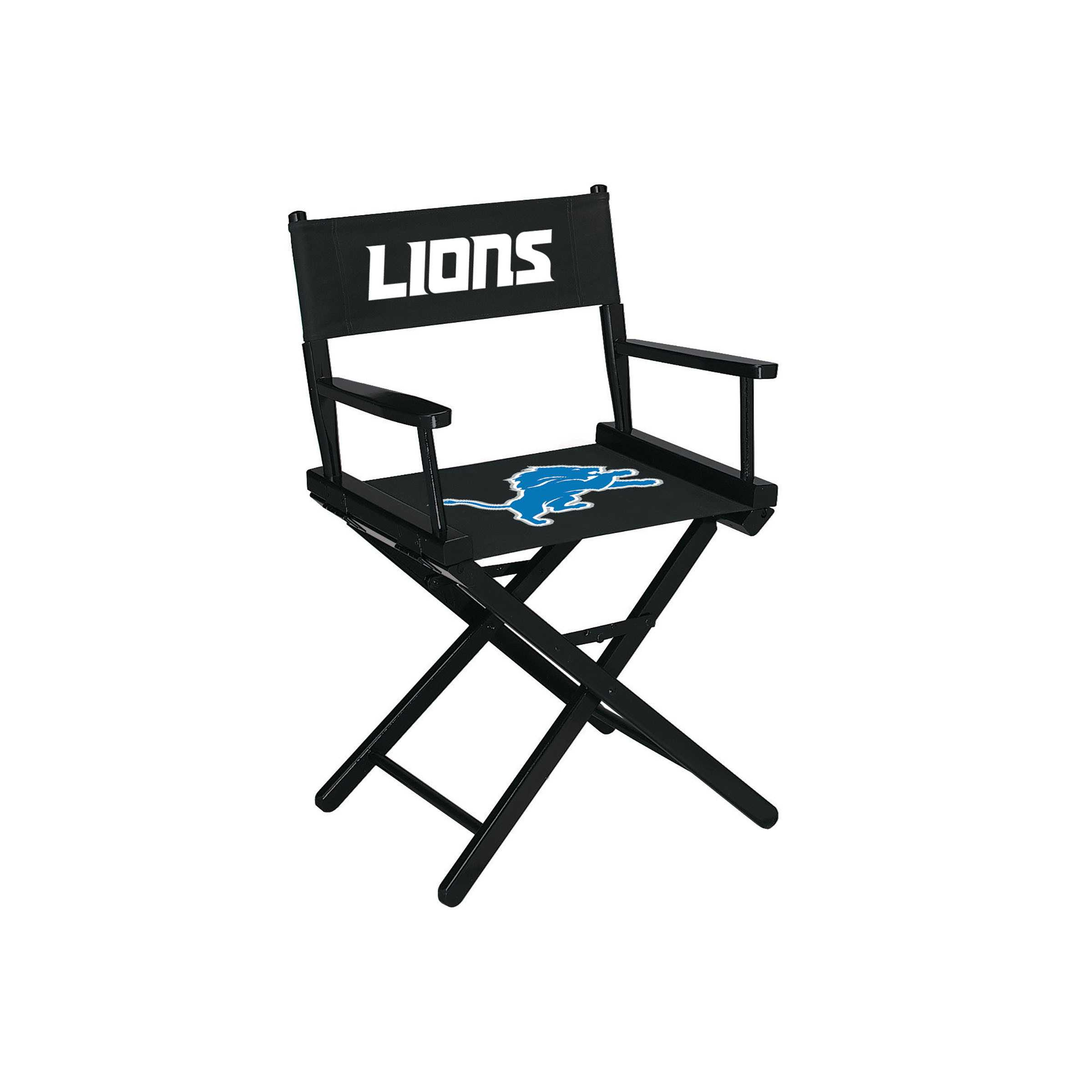 DETROIT LIONS TABLE HEIGHT DIRECTORS CHAIR