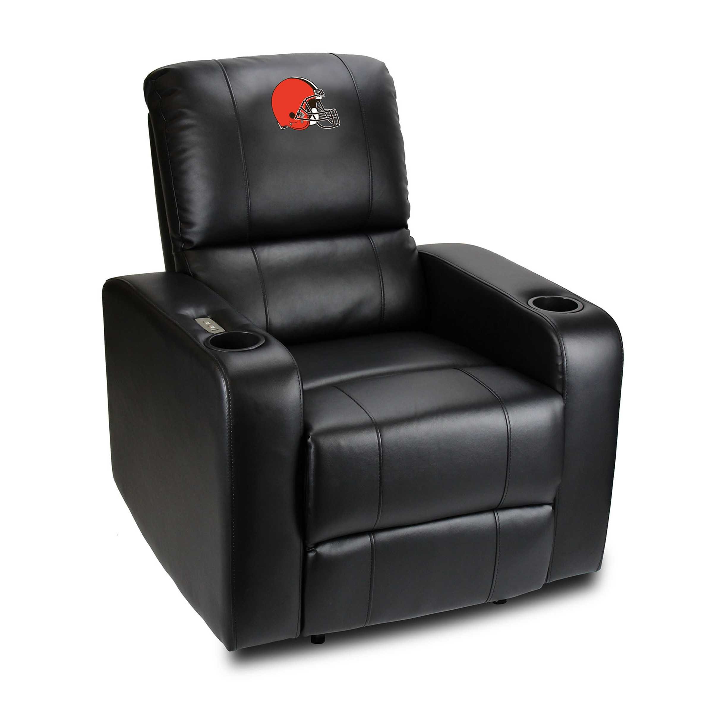 CLEVELAND BROWNS POWER THEATER RECLINER