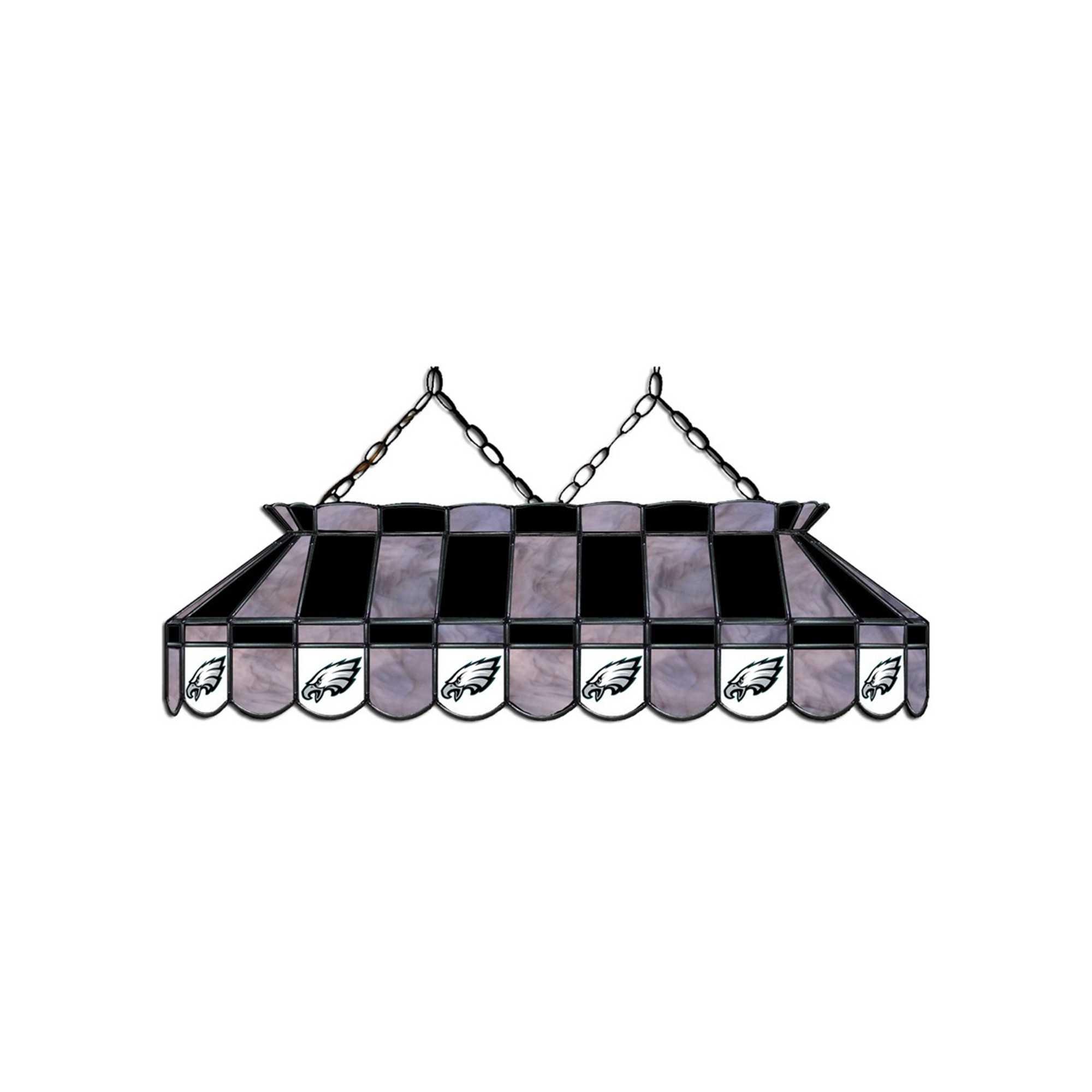 "PHILDELPHIA EAGLES 40"" GLASS LAMP"