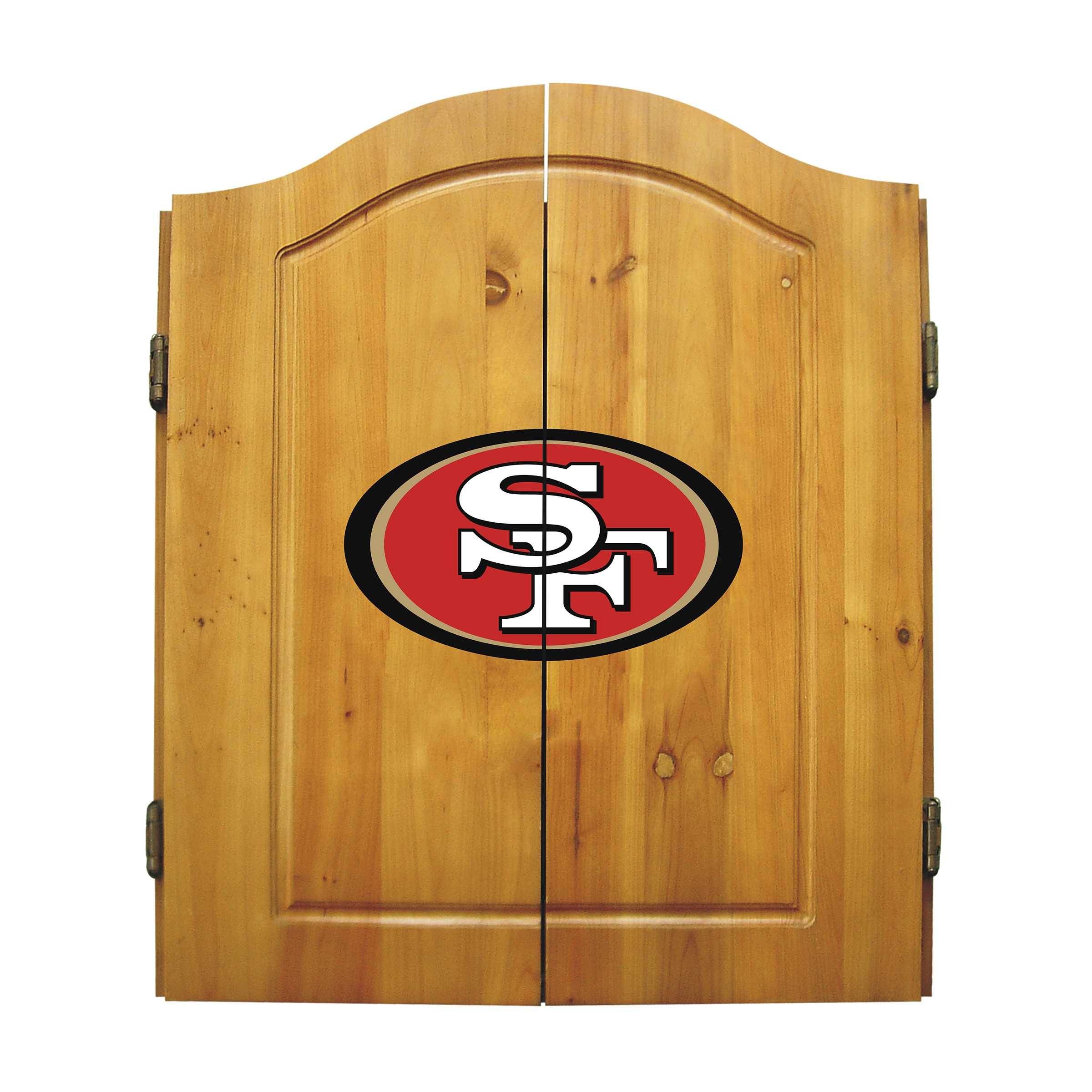 SAN FRANCISCO 49ERS DART CABINET