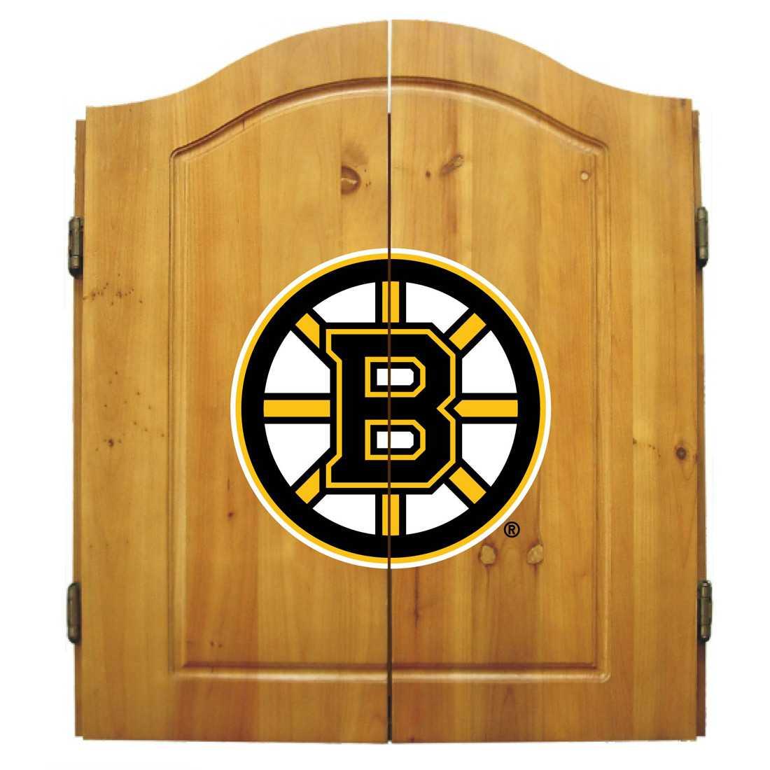 BOSTON BRUINS DART CABINET
