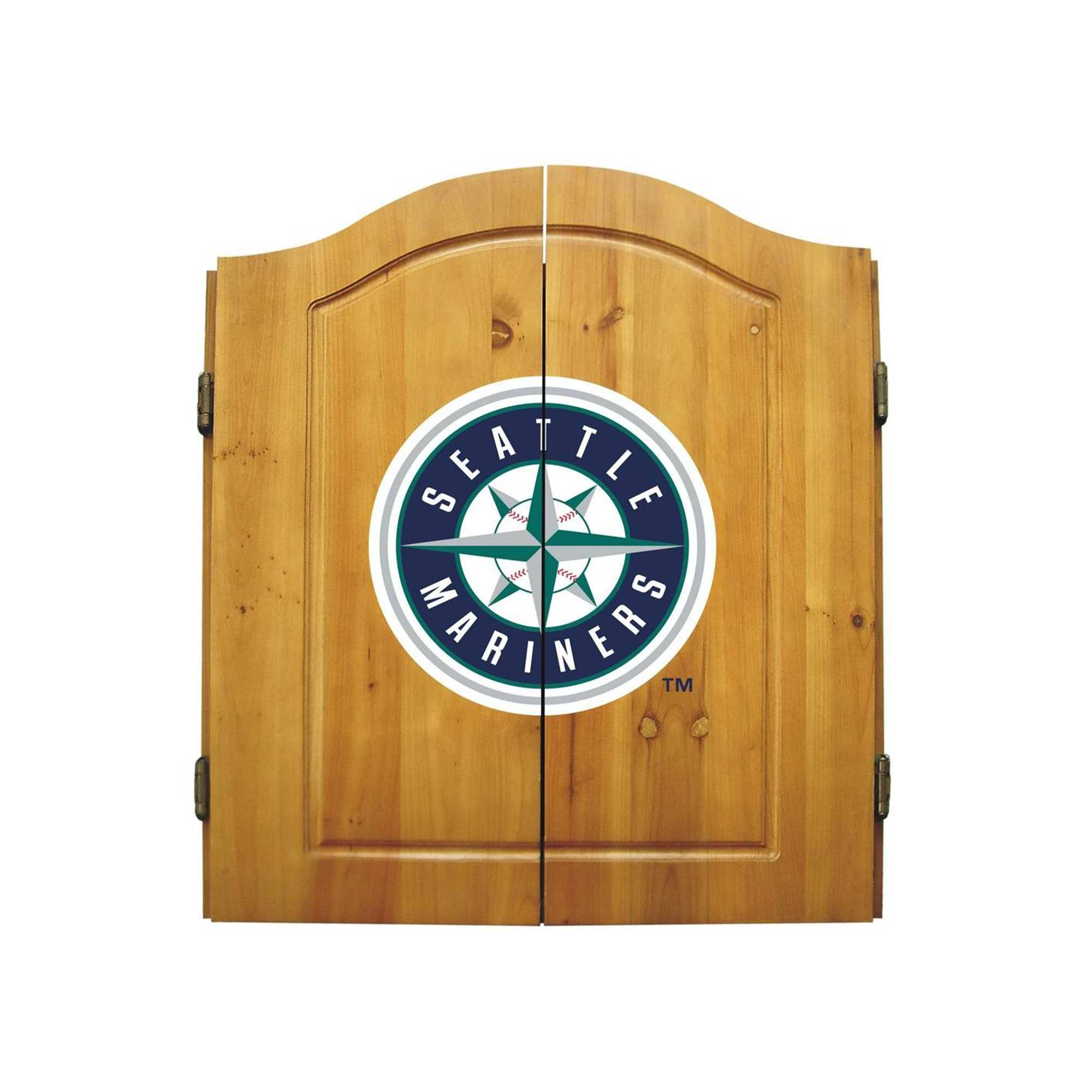 SEATTLE MARINERS COMPLETE DART CABINET
