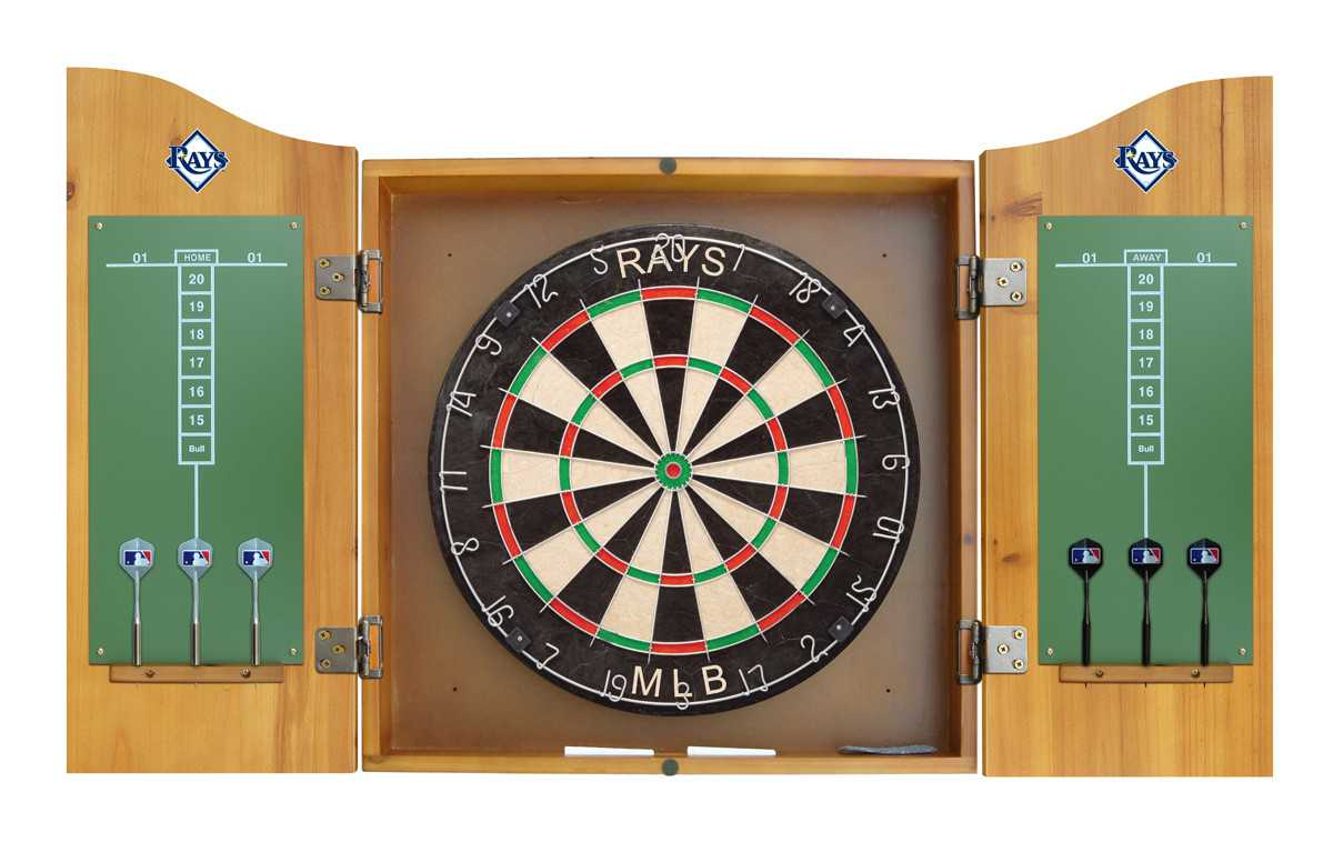 TAMPA BAY DEVIL RAYS COMPLETE DART CABINET