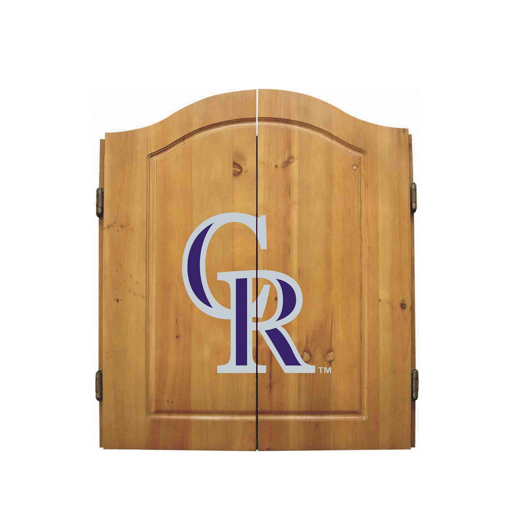 COLORADO ROCKIES COMPLETE DART CABINET