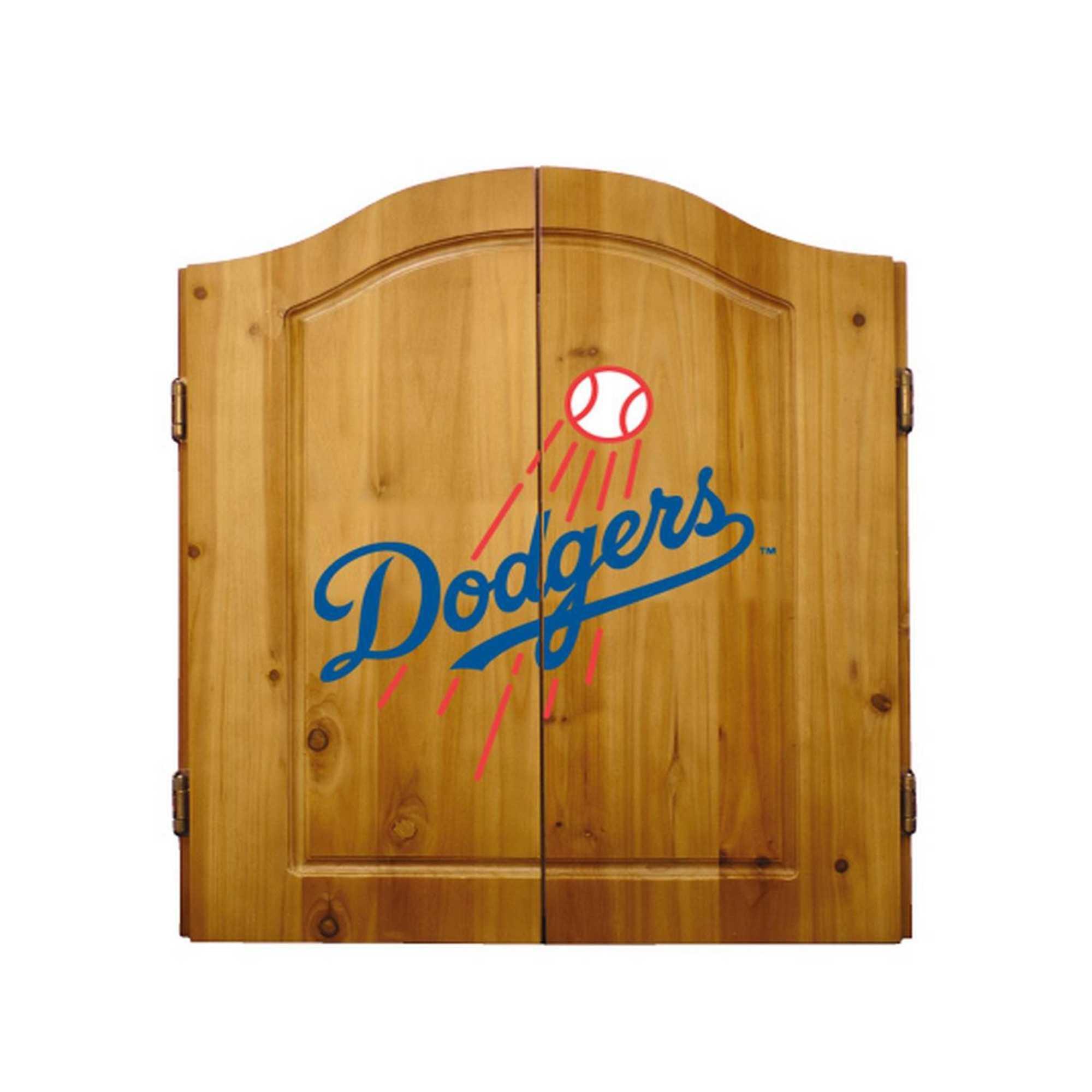 LOS ANGELES DODGERS COMPLETE DART CABINET