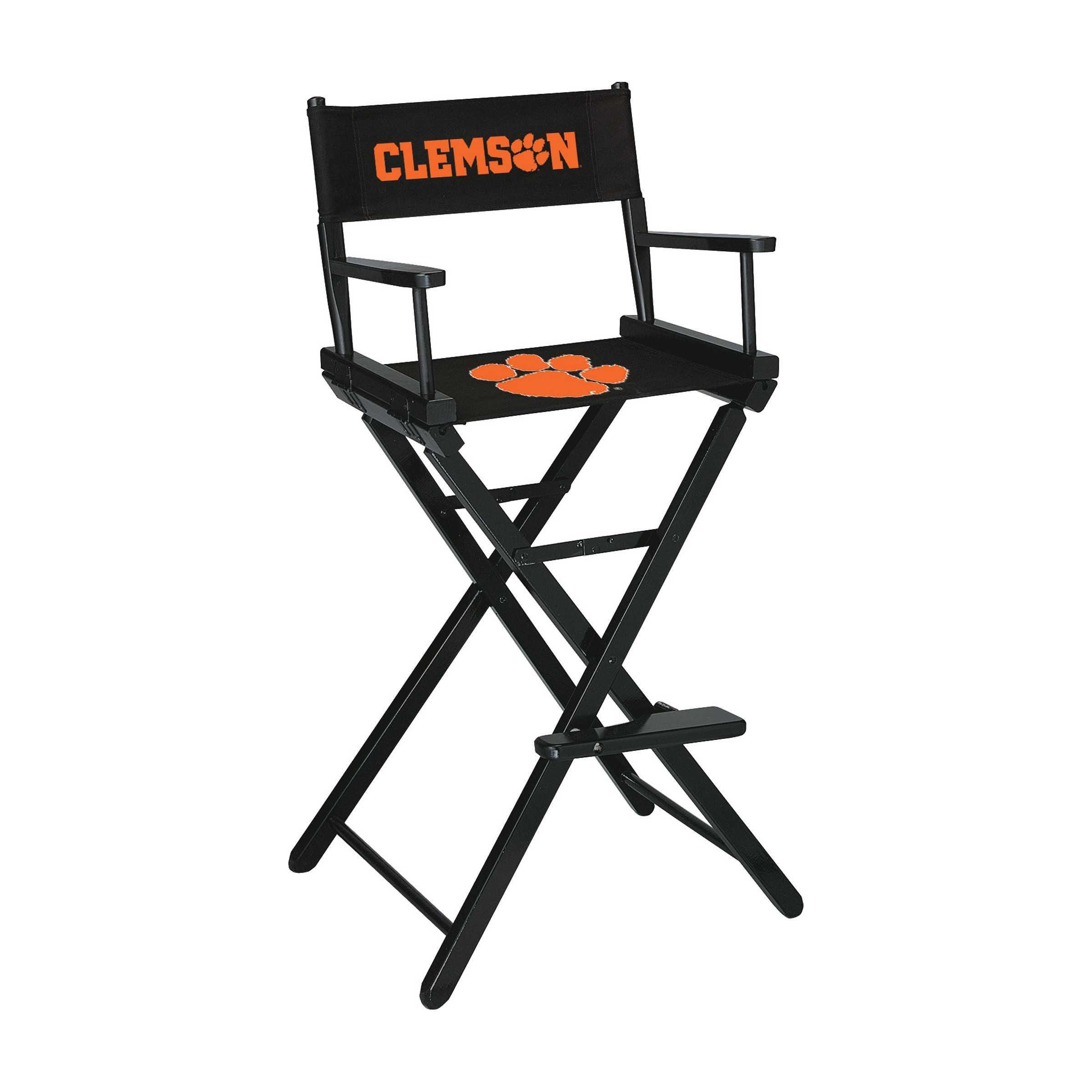 CLEMSON UNIVERSITY DIRECTORS CHAIR-BAR HEIGHT
