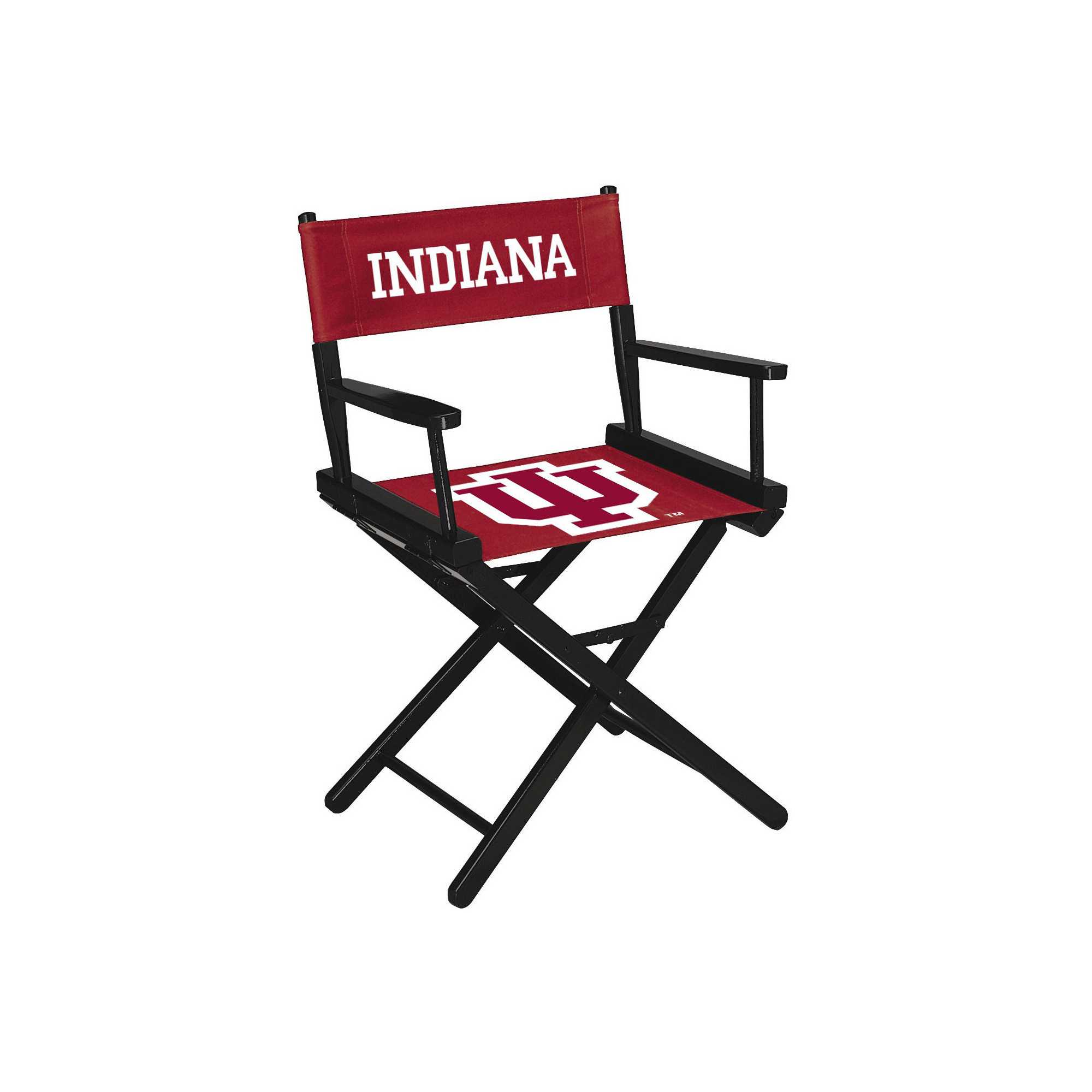 INDIANA UNIVERSITY DIRECTOR CHAIR -TABLE HEIGHT