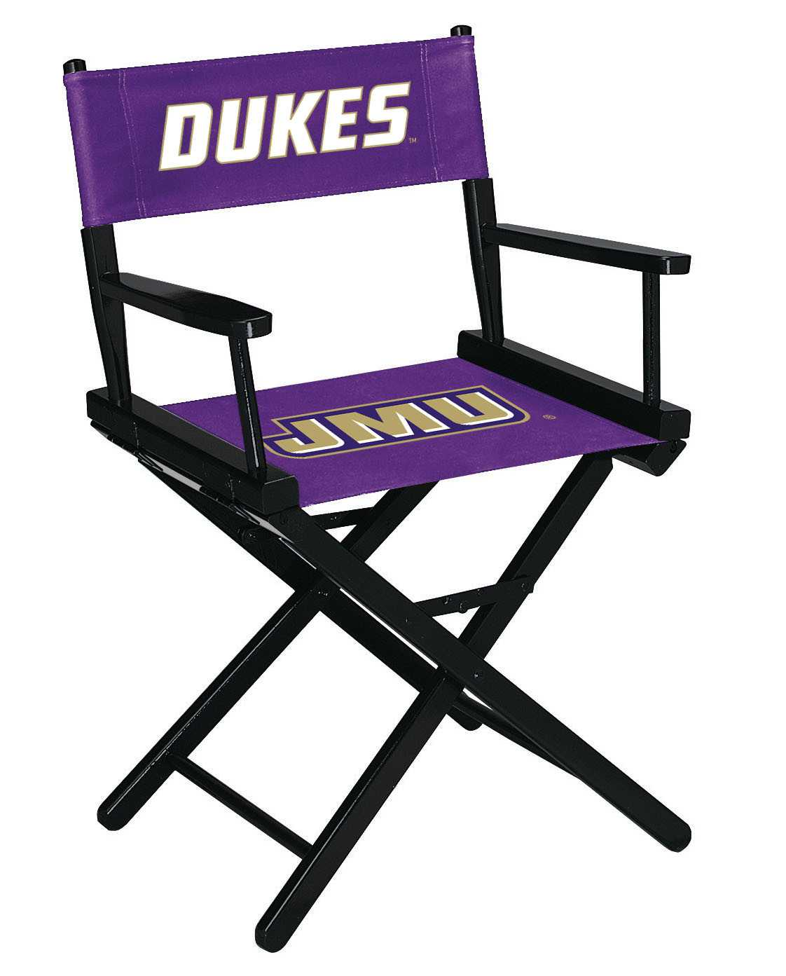 JAMES MADISON UNIVERSITY DIRECTORS CHAIR-TABLE HEIGHT
