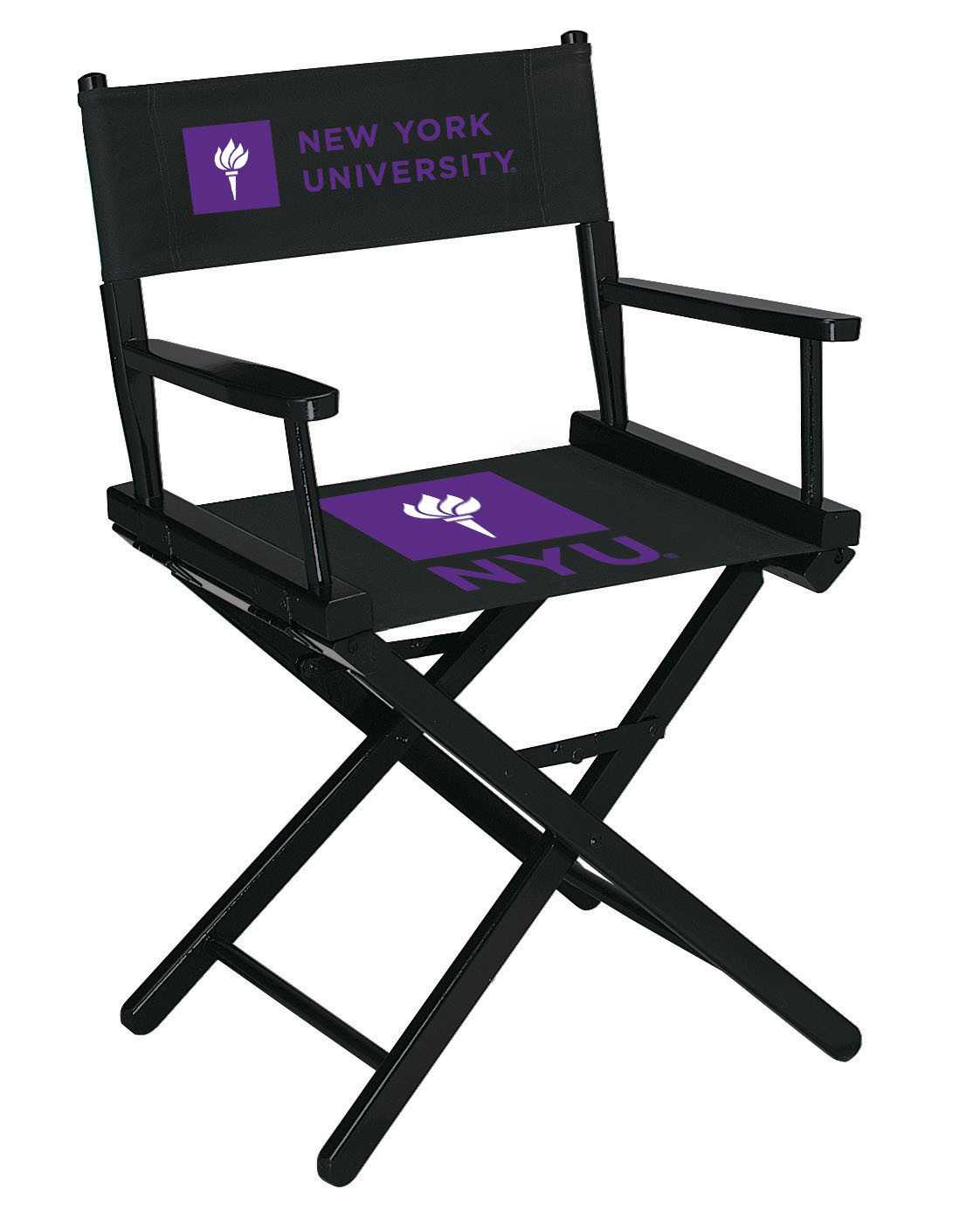 NEW YORK UNIVERSITY DIRECTORS CHAIR-TABLE HEIGHT