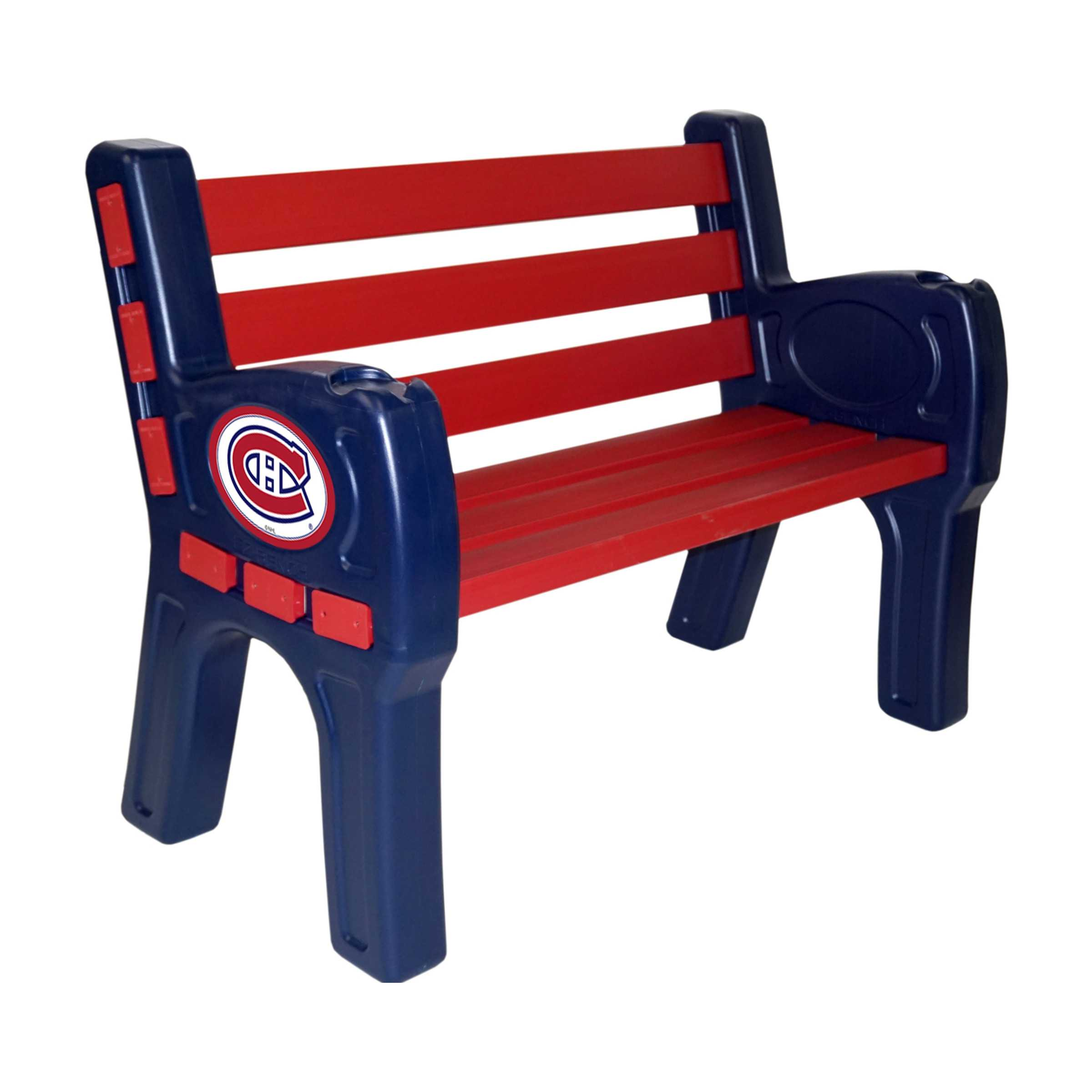 MONTREAL CANADIENS PARK BENCH