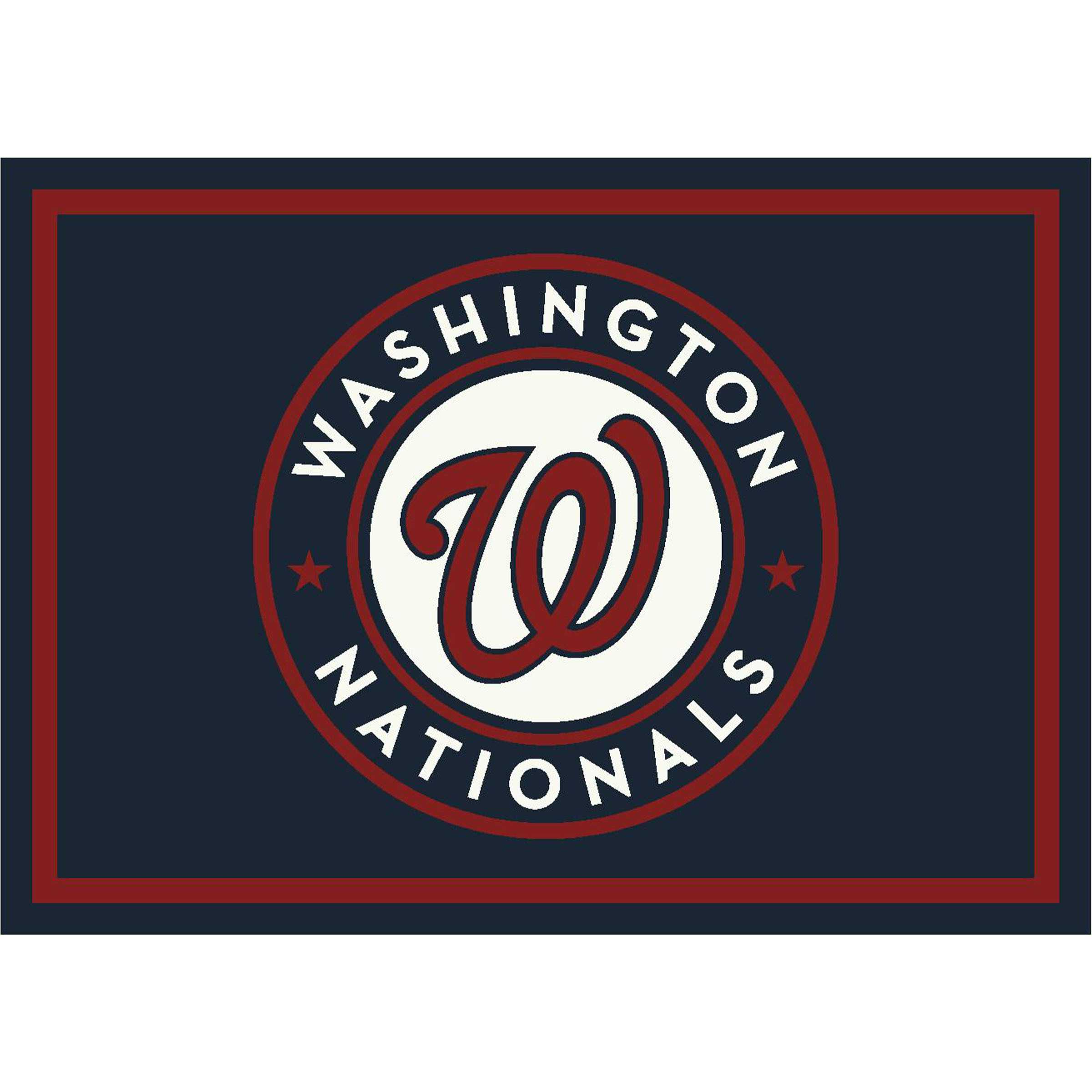 WASHINGTON NATIONALS 4X6 SPIRIT RUG