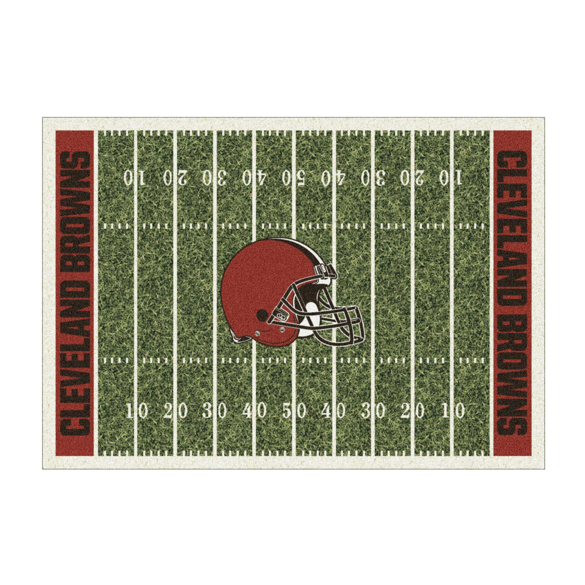 CLEVELAND BROWNS 6X8 HOMEFIELD RUG