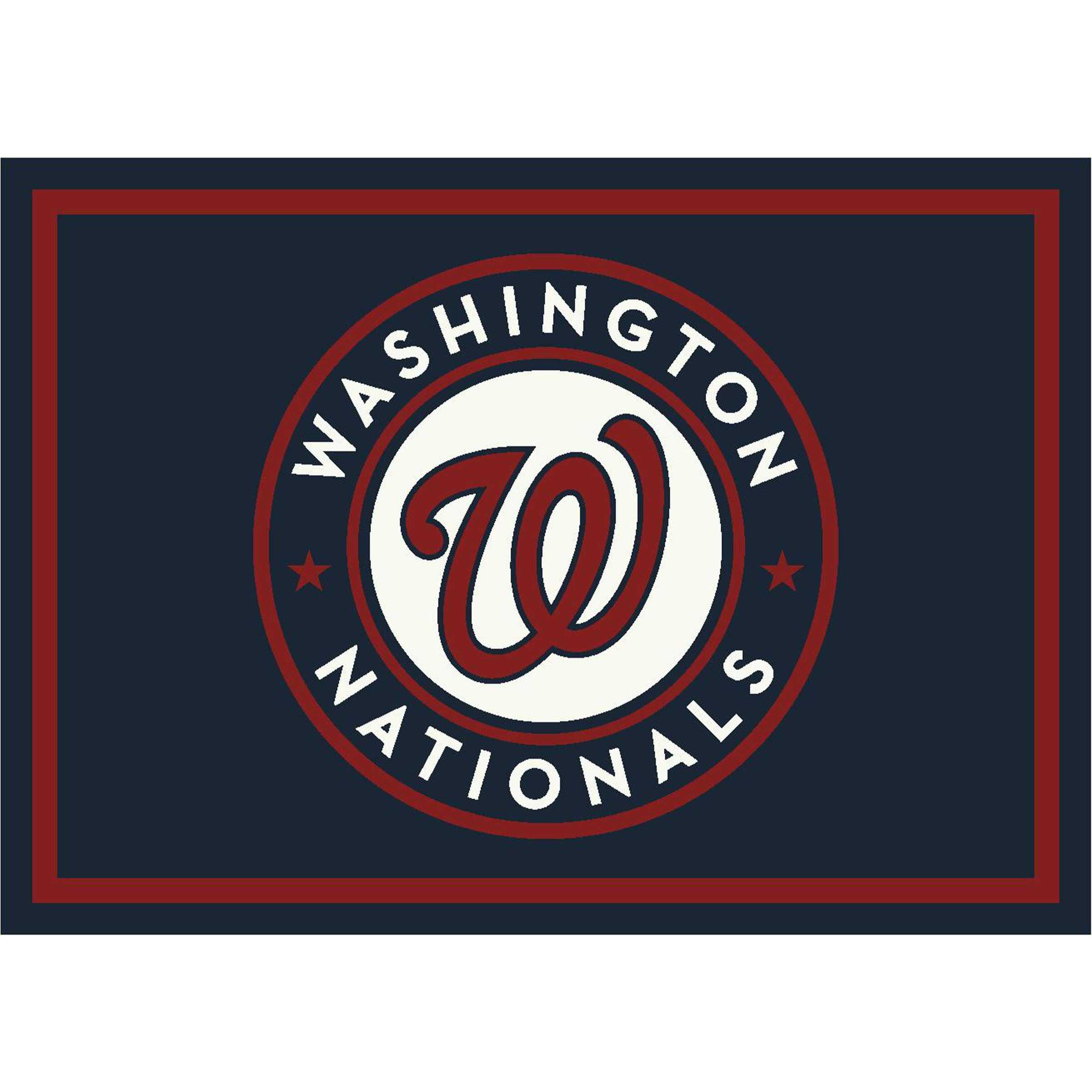 WASHINGTON NATIONALS 6X8 SPIRIT RUG