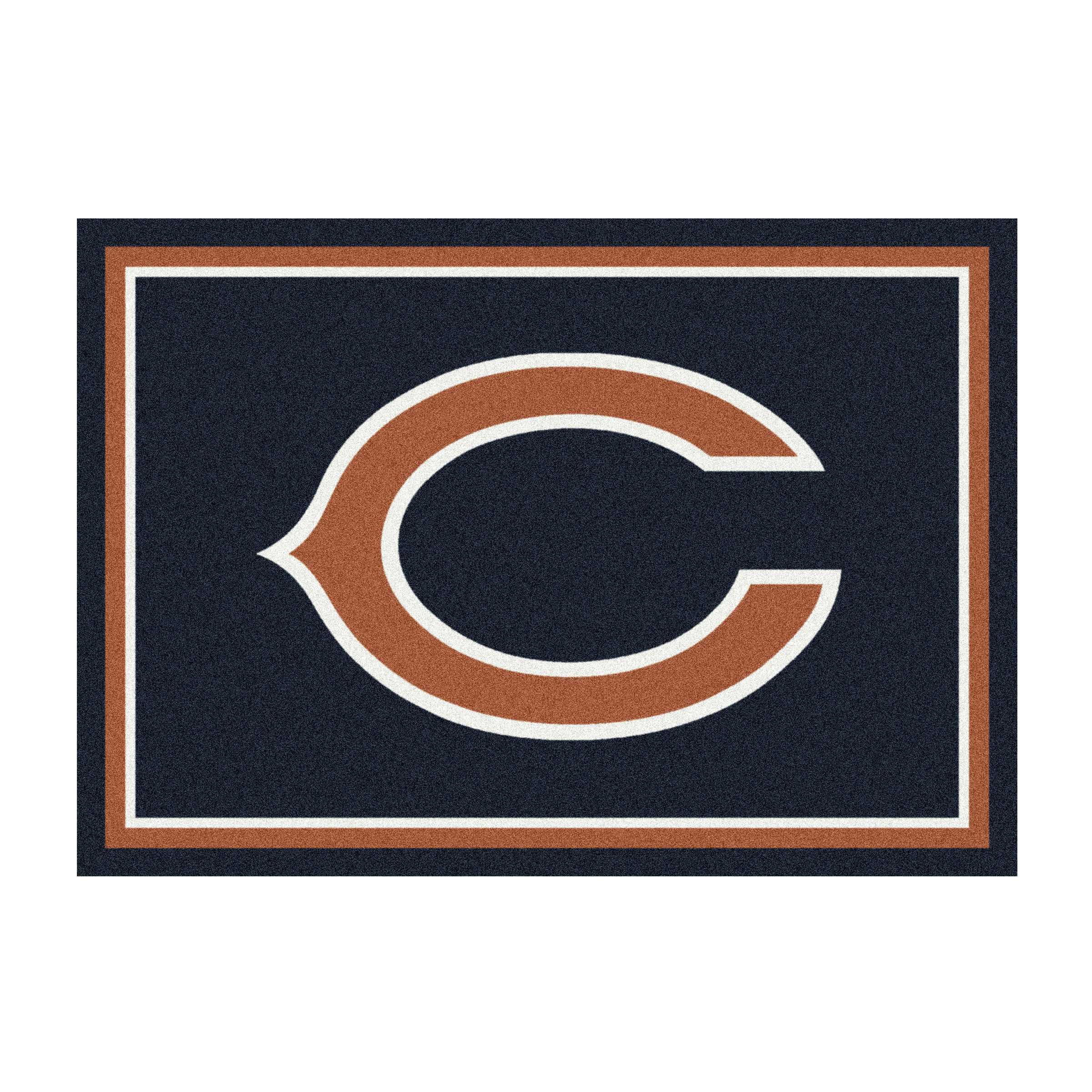 CHICAGO BEARS 6X8 SPIRIT RUG