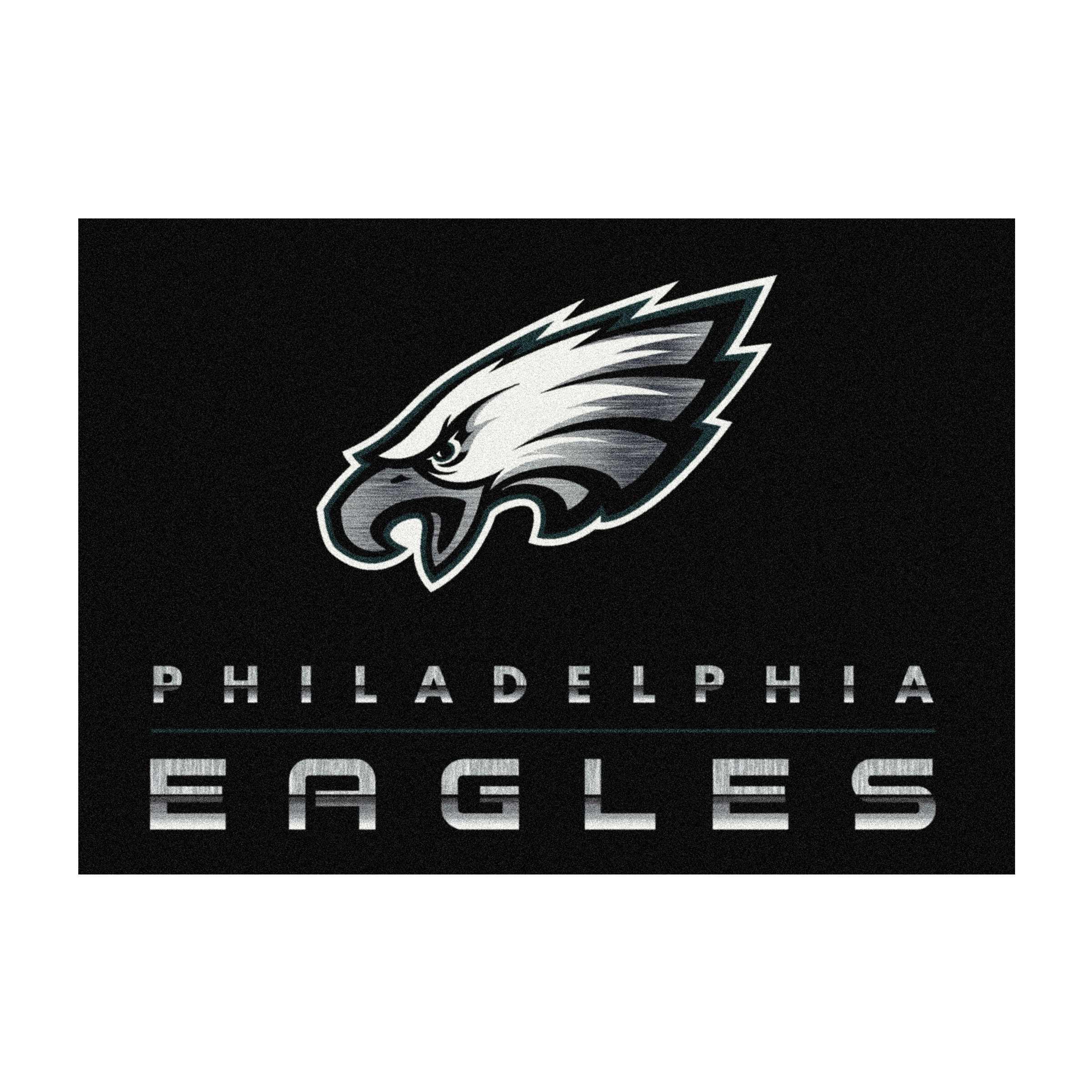 PHILADELPHIA EAGLES 6X8 CHROME RUG