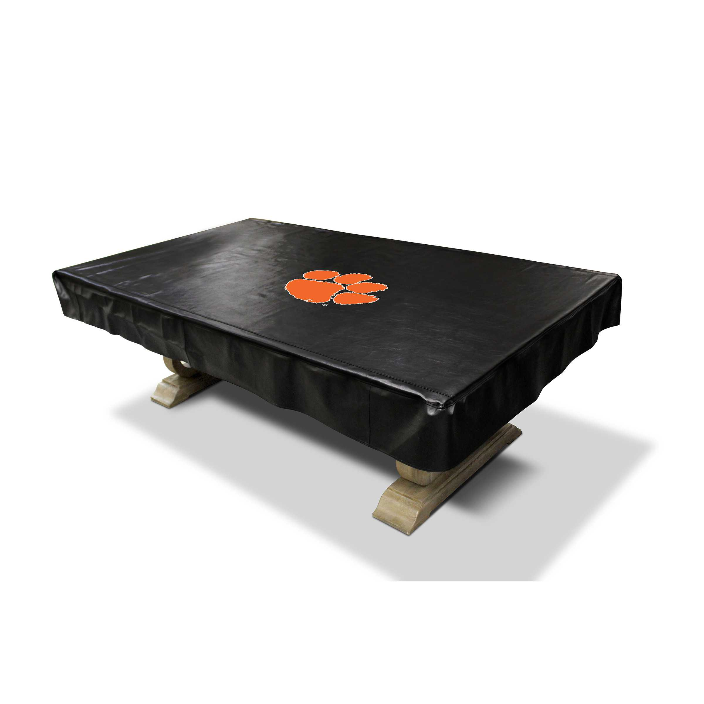 CLEMSON UNIVERSITY 8' DELUXE POOL TABLE COVER