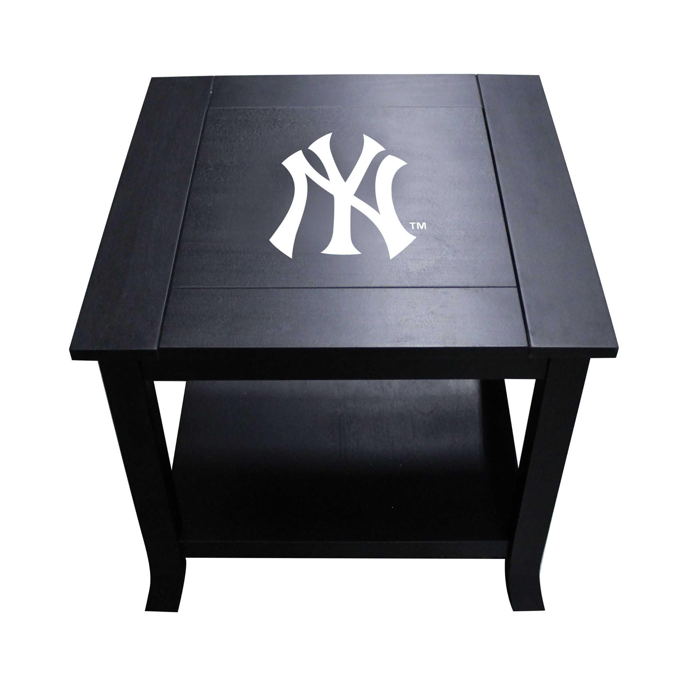NEW YORK YANKEES SIDE TABLE