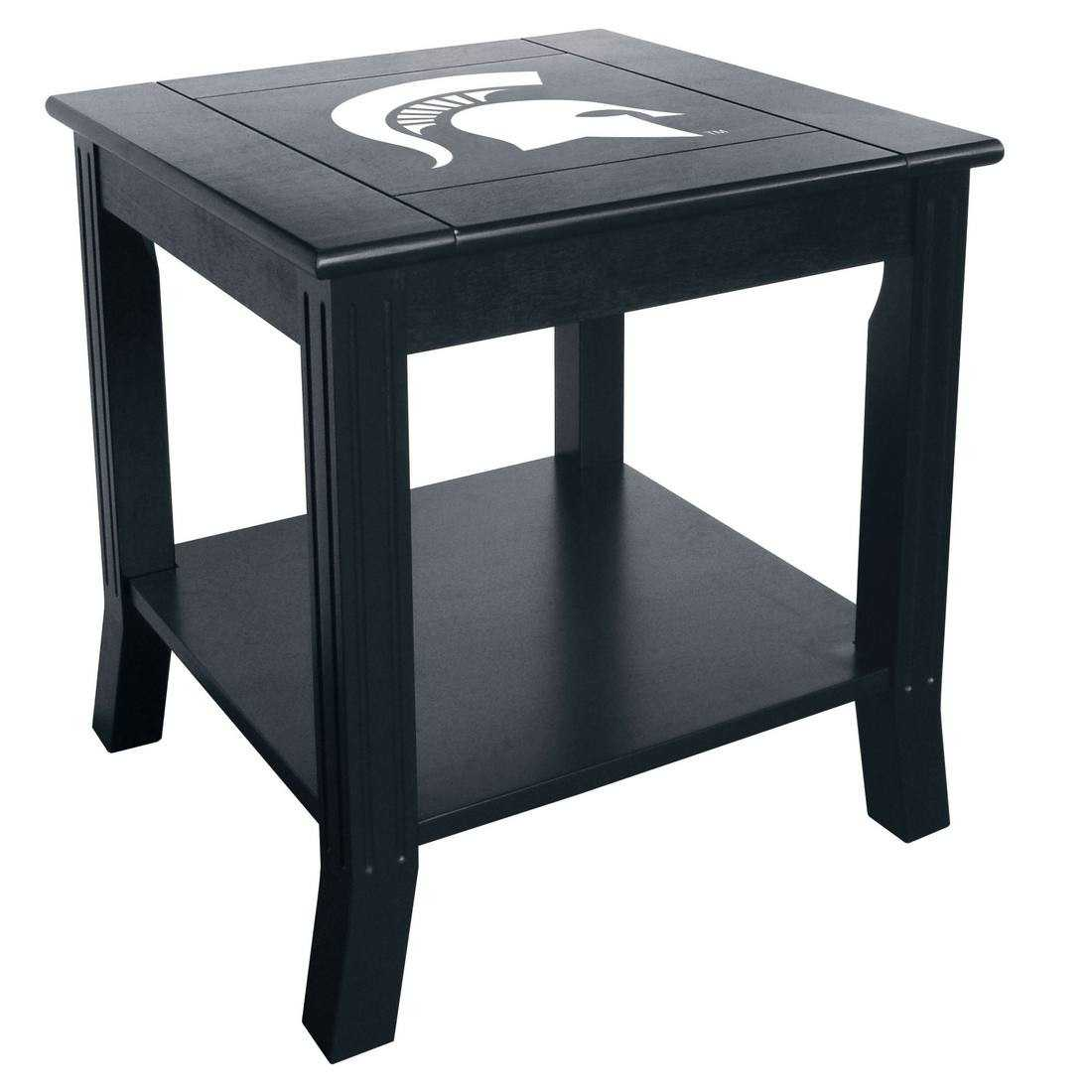 MICHIGAN STATE SIDE TABLE