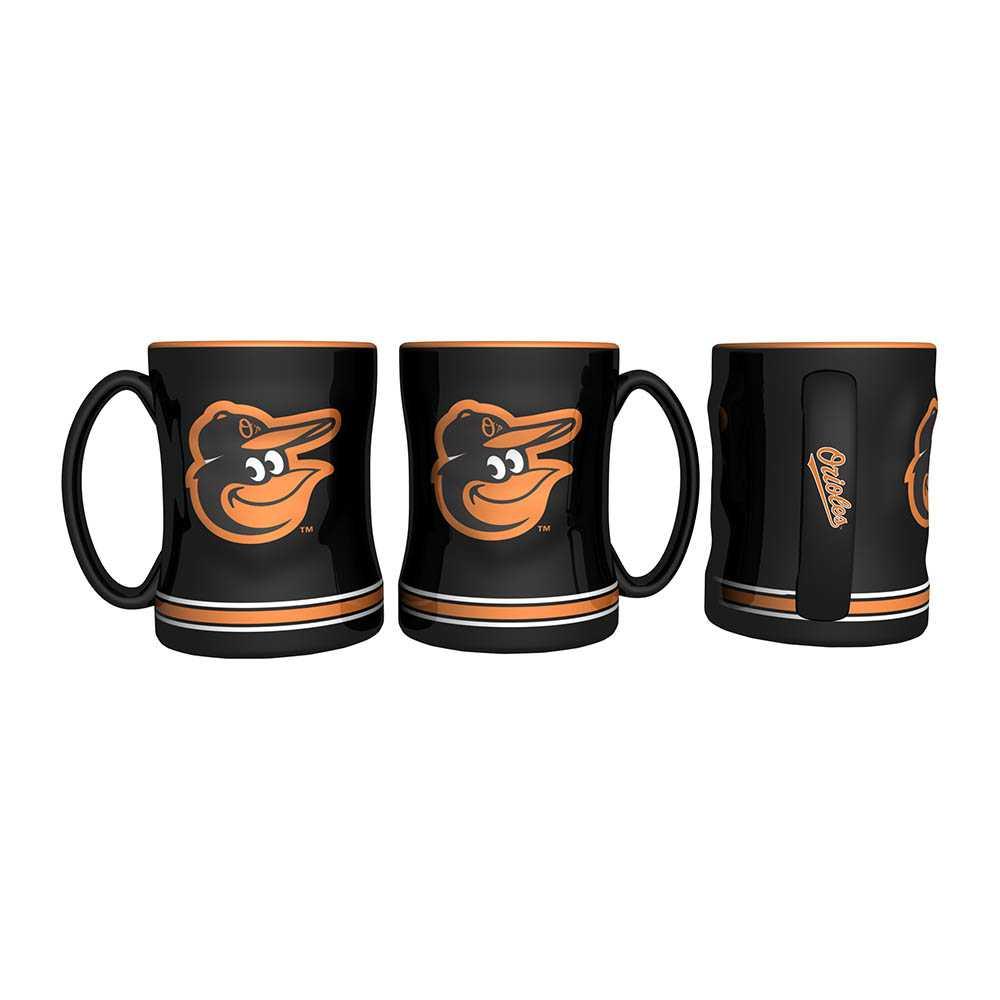 Baltimore Orioles Sculpted Relief Mug