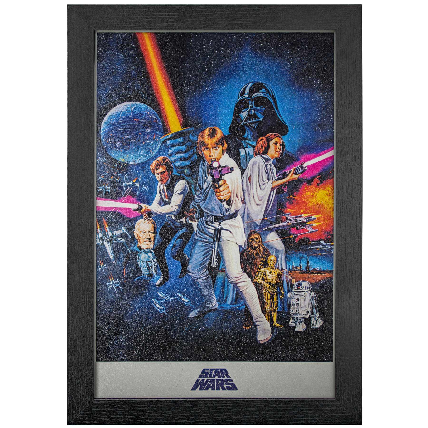 Licensed Framed Art - Star Wars a New Episode
