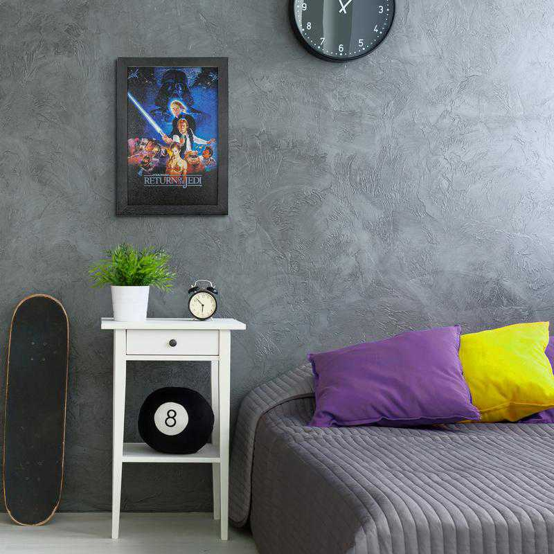 Licensed Framed Art - Star Wars Return of the Jedi