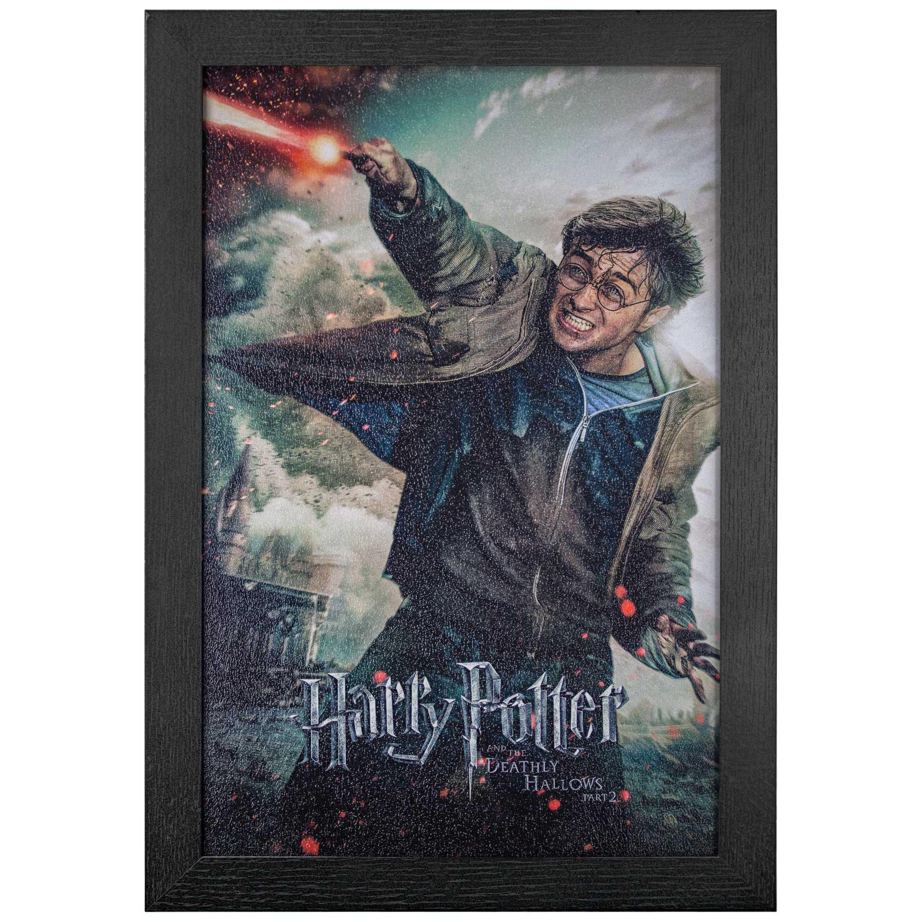 Licensed Framed Art - Harry Potter Deathly Hollows