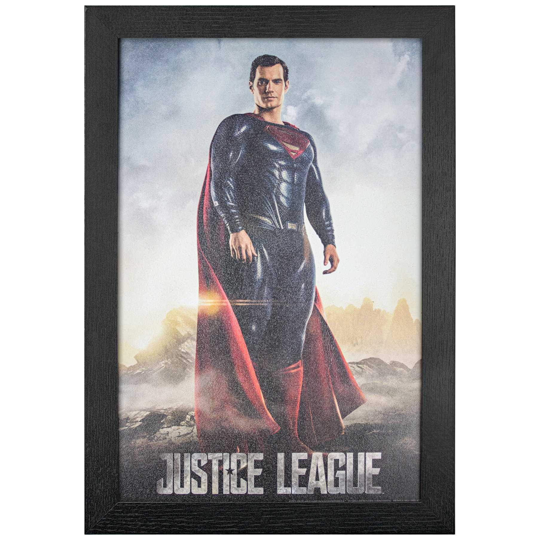 Licensed Framed Art - Justice League Superman