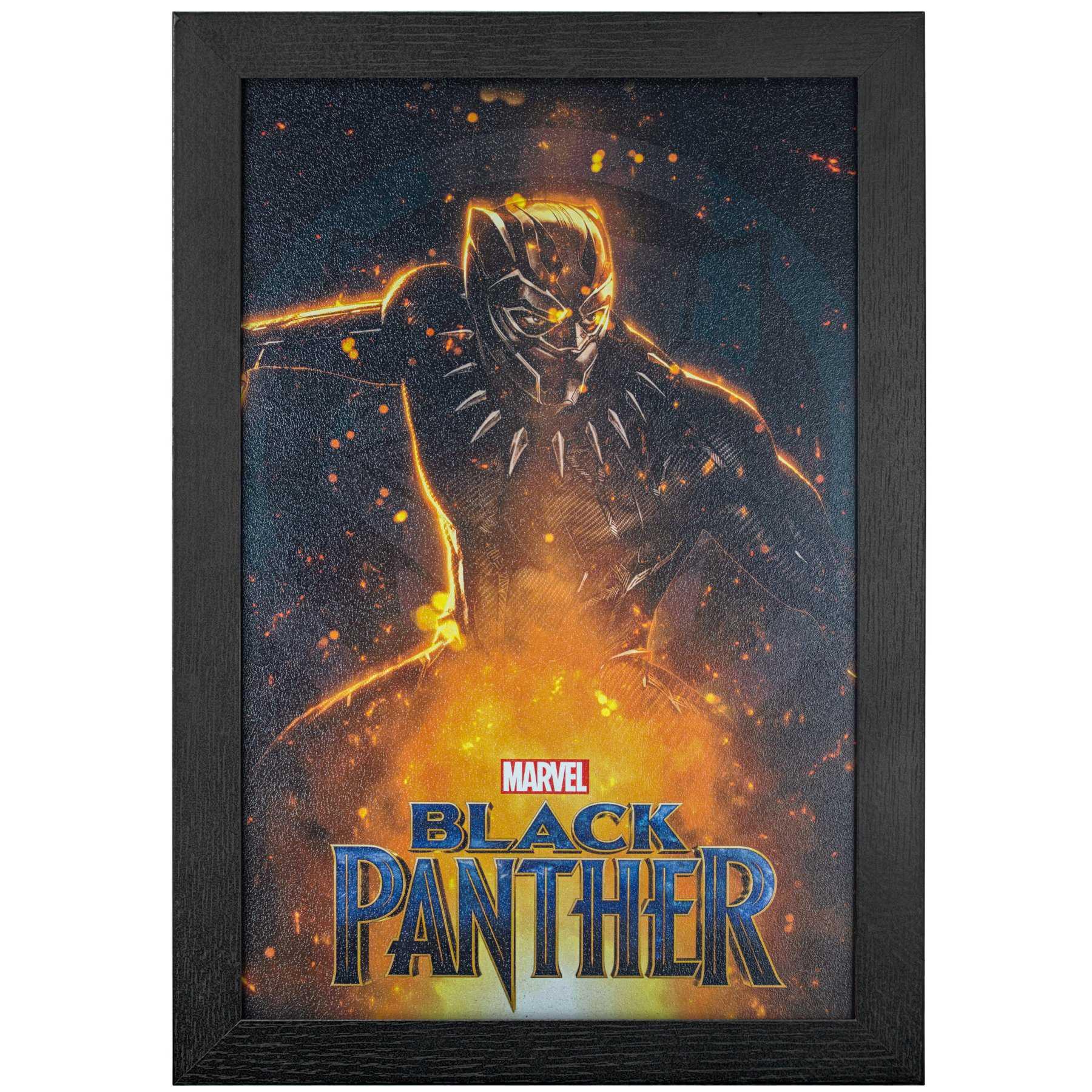 Licensed Framed Art - Black Panther