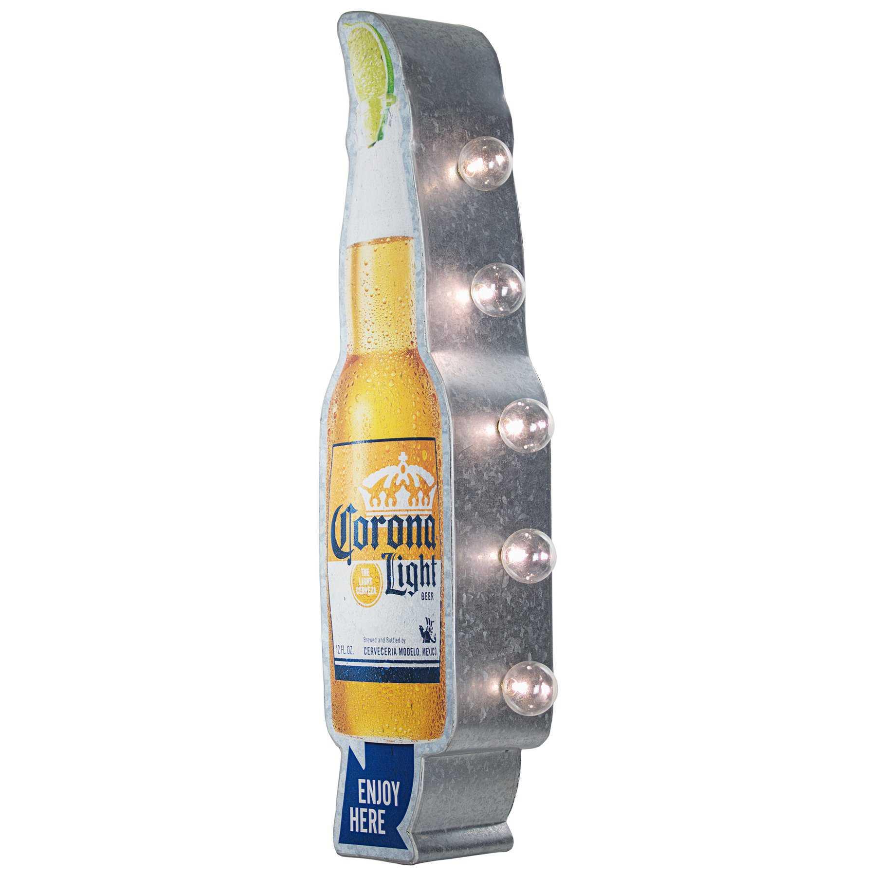 Vintage Two Sided Led Sign - Corona Light
