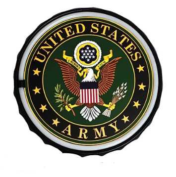 Army Round LED Bar Rope Sign