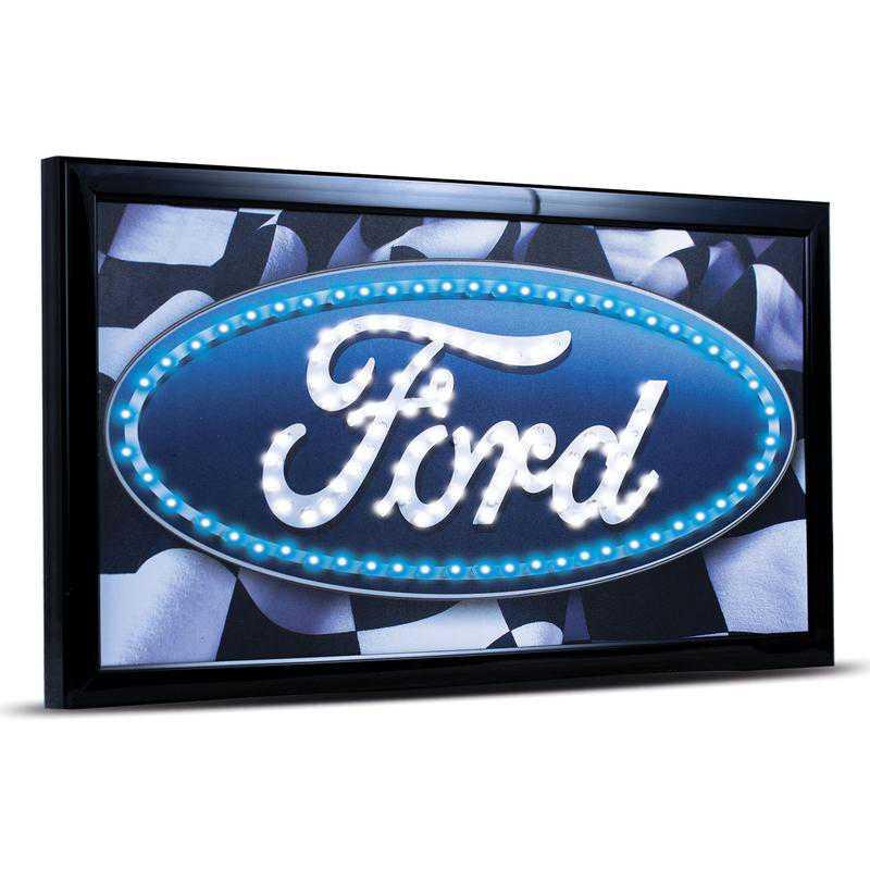 Ford Logo LED Sign