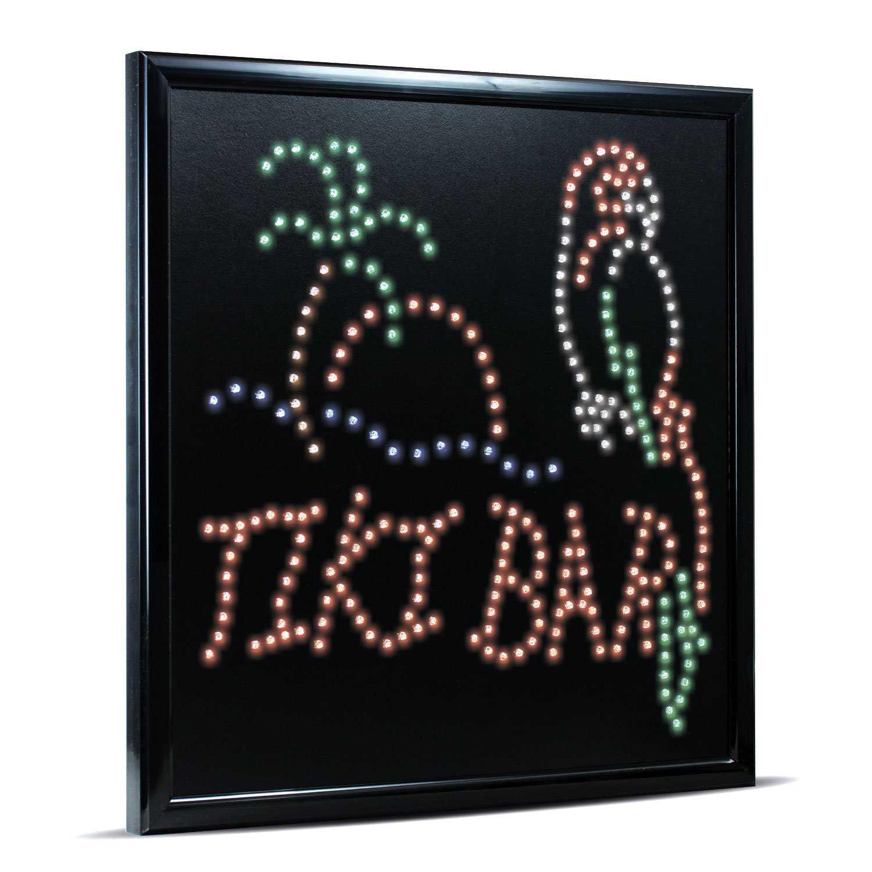 Tiki Bar LED Sign