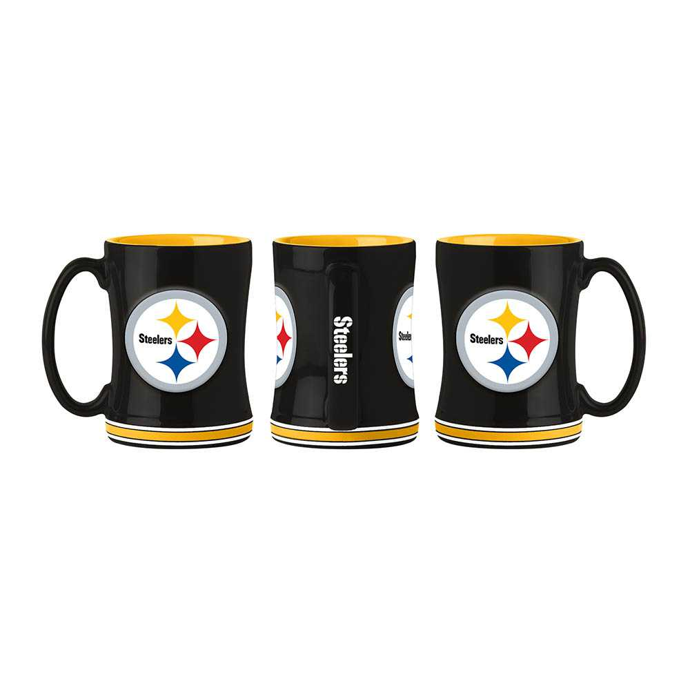 Pittsburg Steelers Sculpted Relief Mug