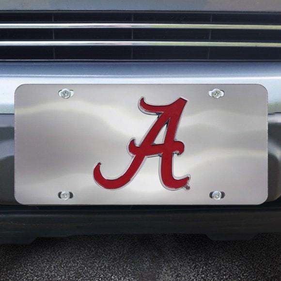 Alabama Crimson Tide Diecast License Plate
