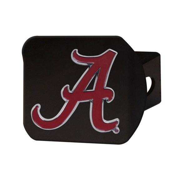 Alabama Crimson Tide Hitch Cover-Black