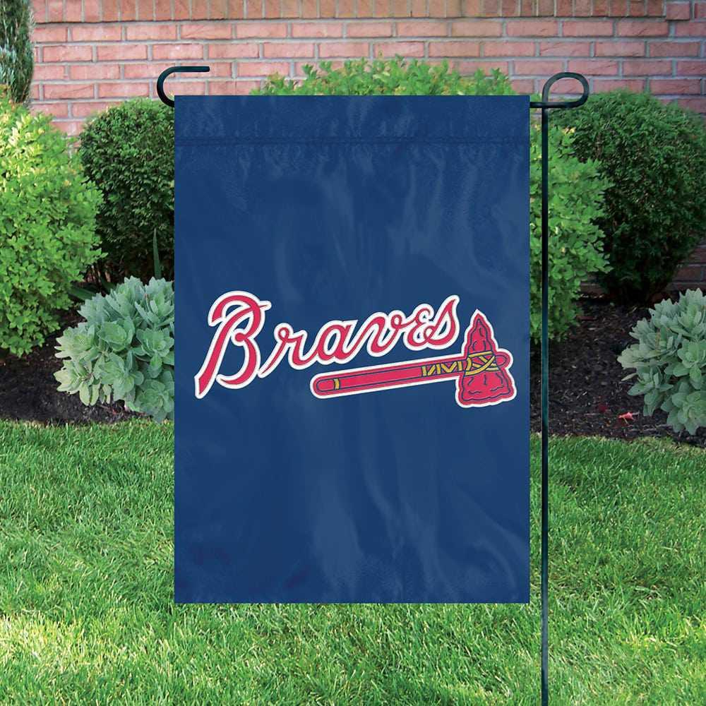 Atlanta Braves Garden Flag