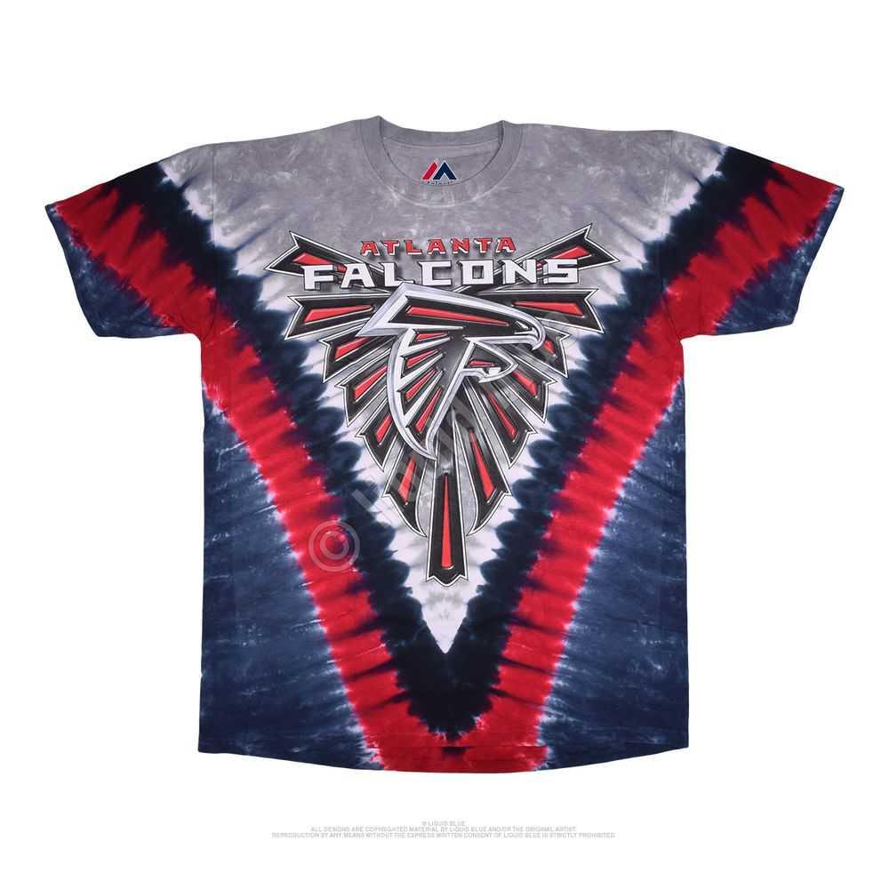 Atlanta Falcons V Tie-dye Tshirt