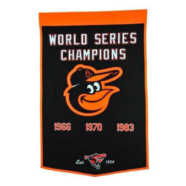 Baltimore Orioles Dynasty Banner