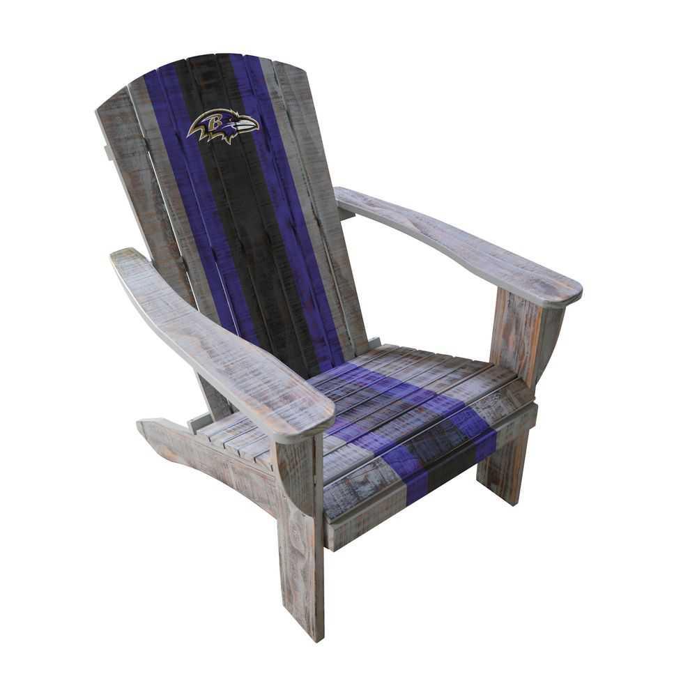 Baltimore Ravens Adirondack Chair