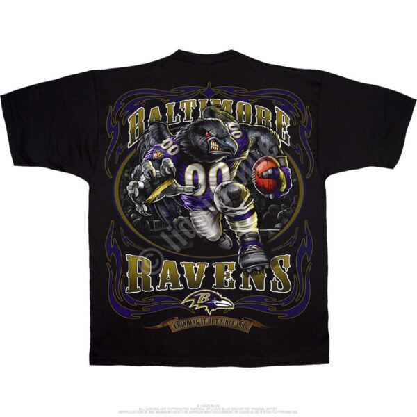 Baltimore Ravens Running Back Tshirt
