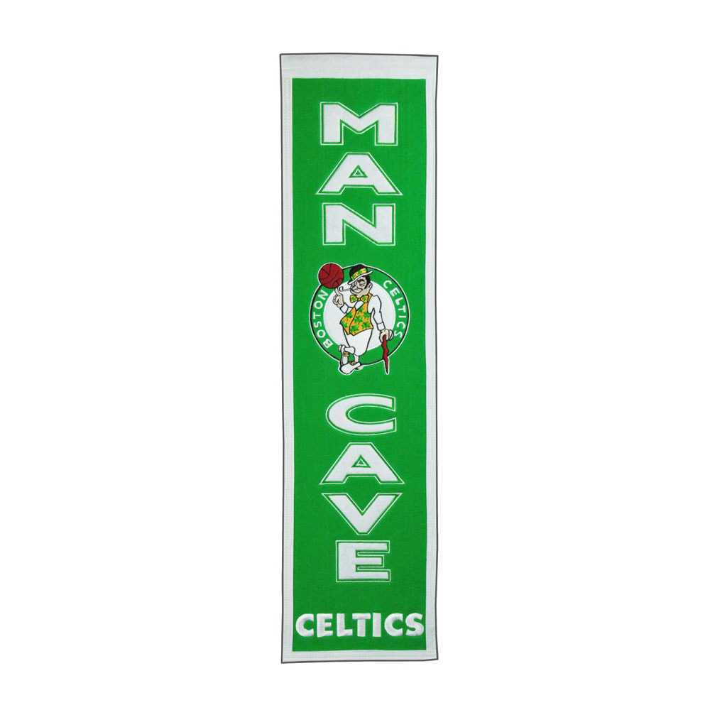 Boston Celtics Man Cave Banner