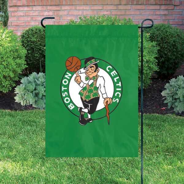 Boston Celtics Garden Flag
