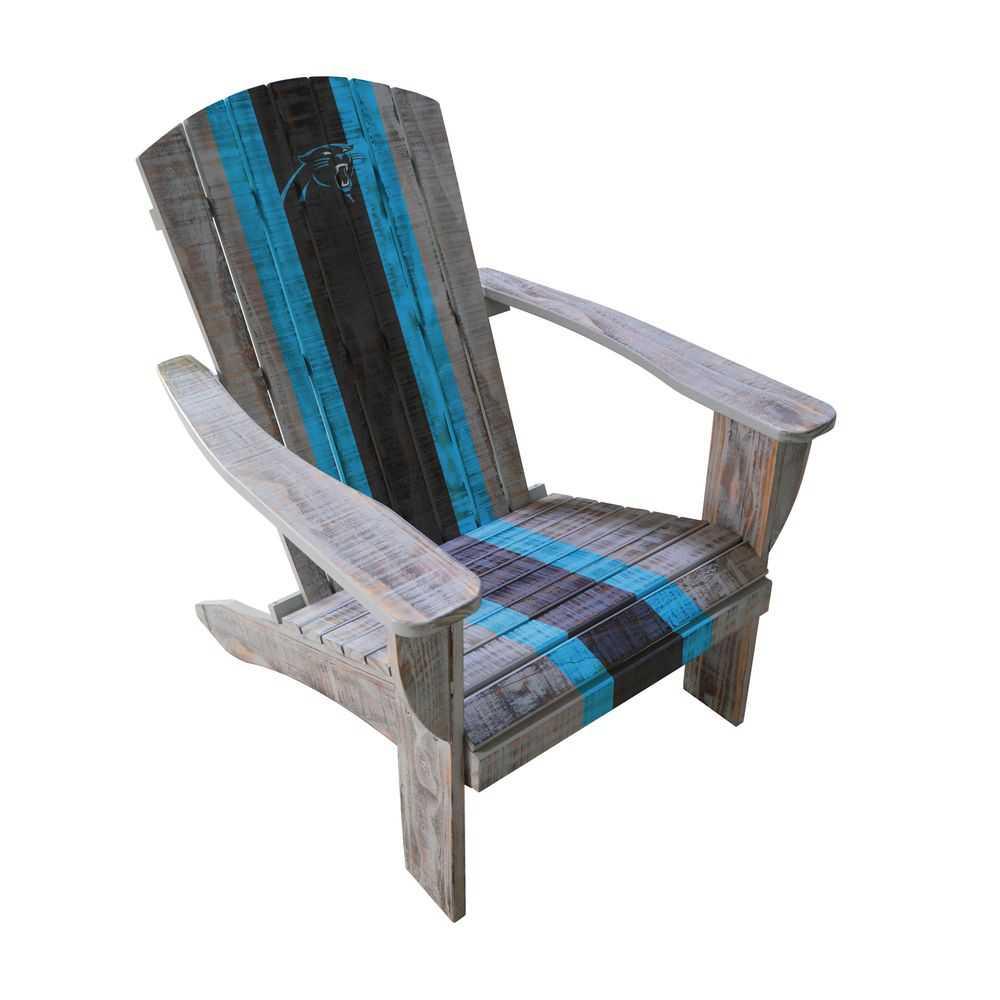 Carolina Panthers Adirondack Chair