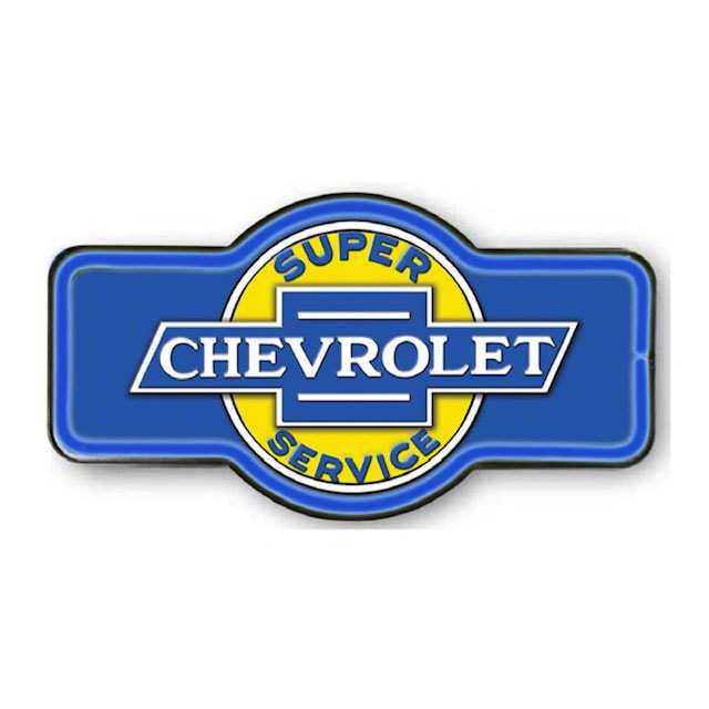Chevrolet Service Marquee Shape LED Bar Rope Sign