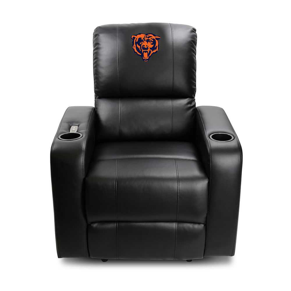Chicago Bears Power Theater Recliner With Usb