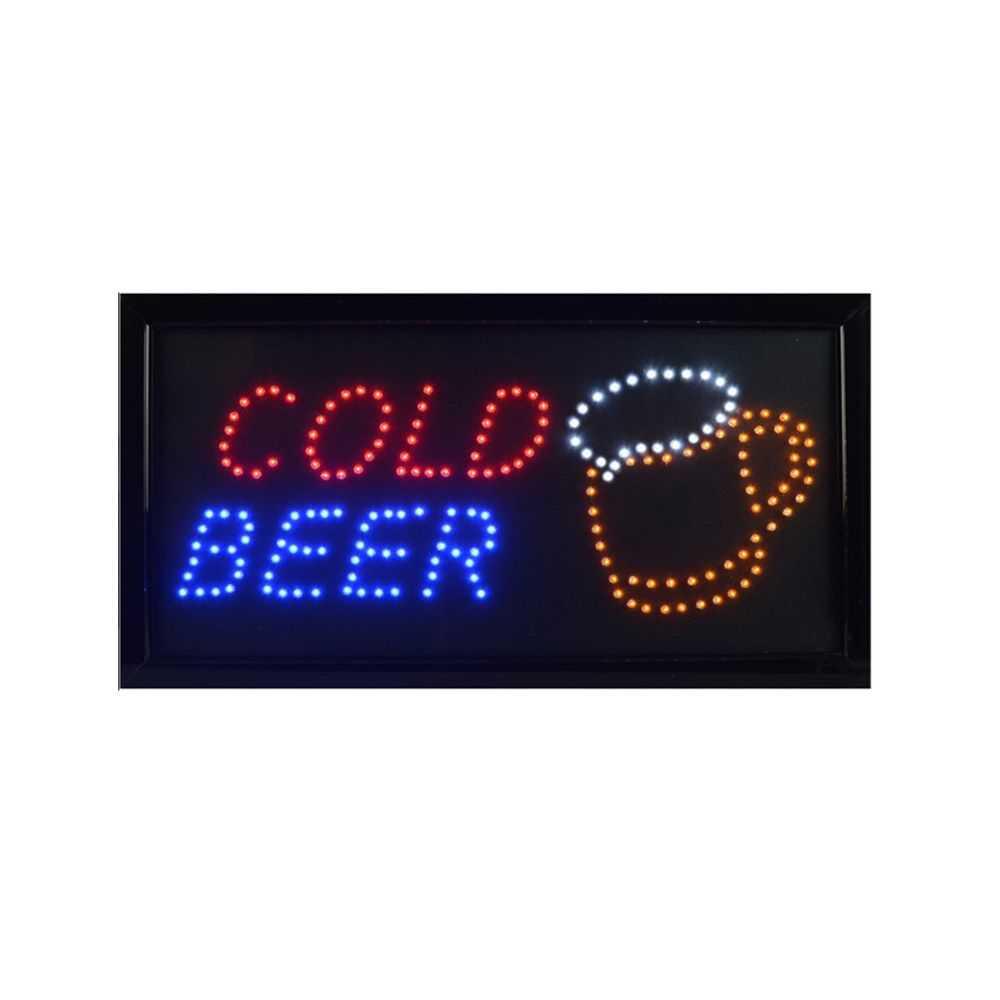 Cold Beer LED Sign