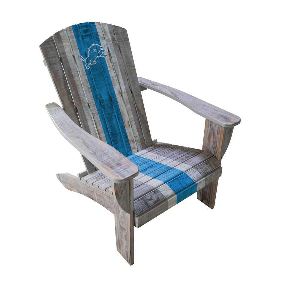 Detroit Lions Adirondack Chair