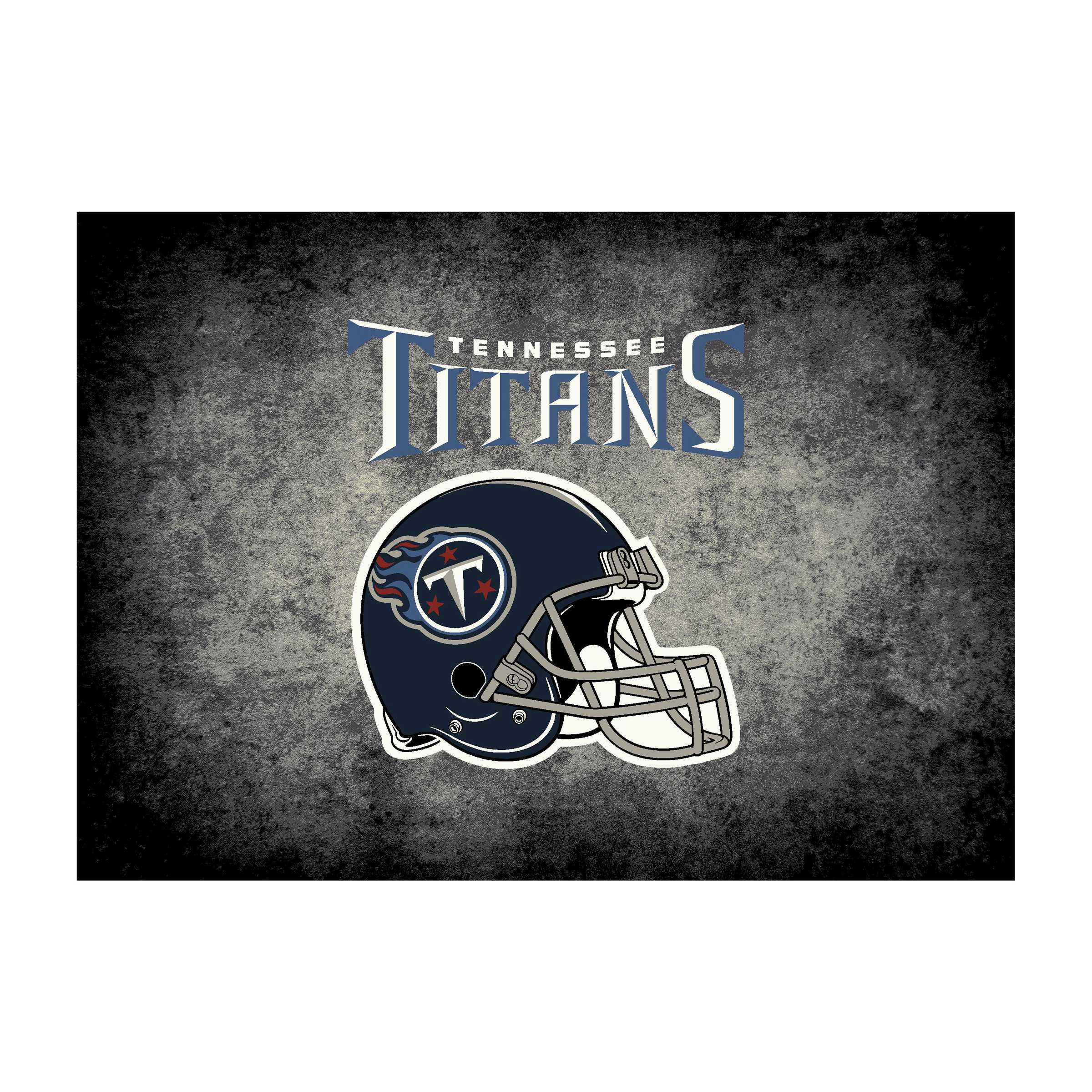TENNESSEE TITANS 8X11 DISTRESSED RUG