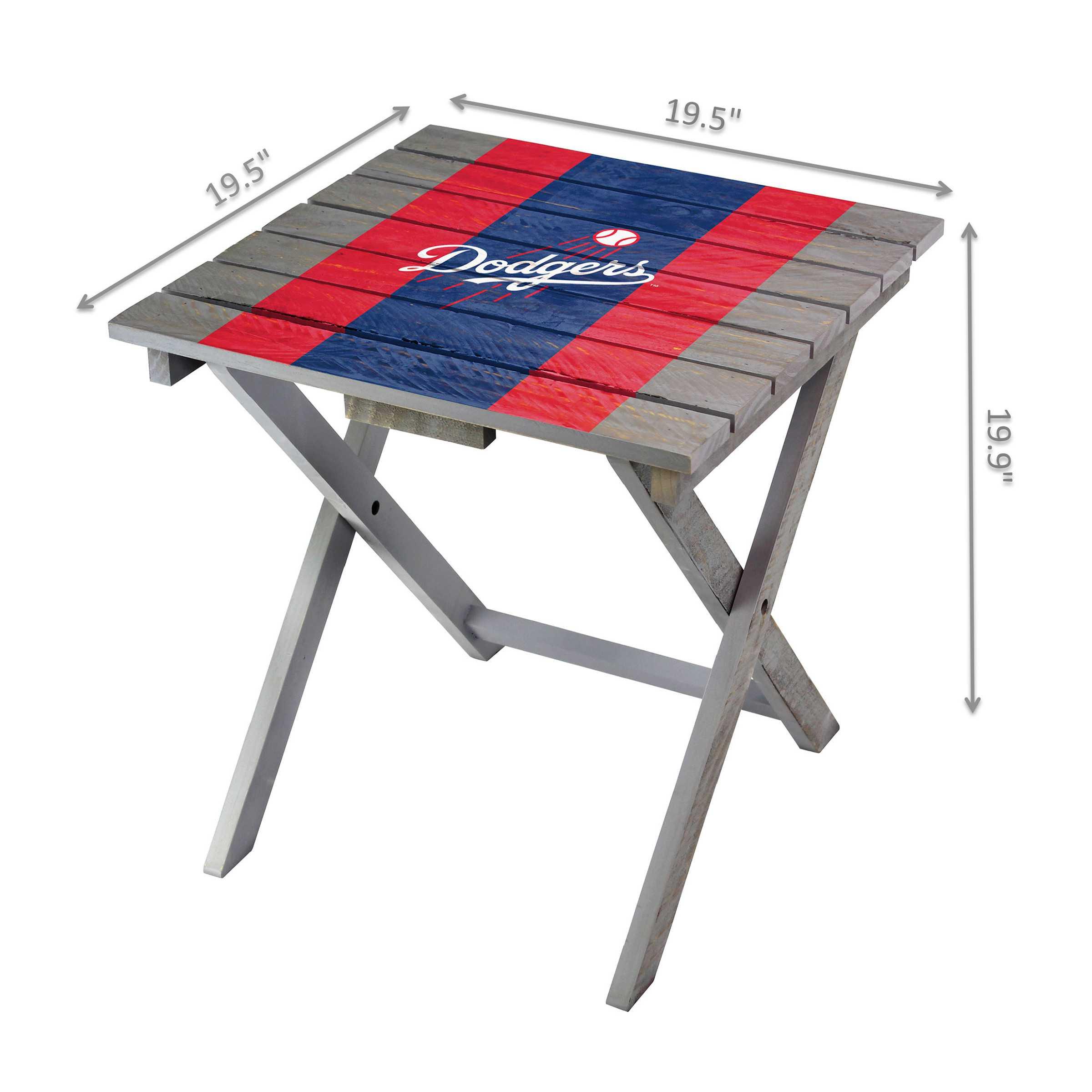 Los Angeles Dodgers Adirondack Folding Table